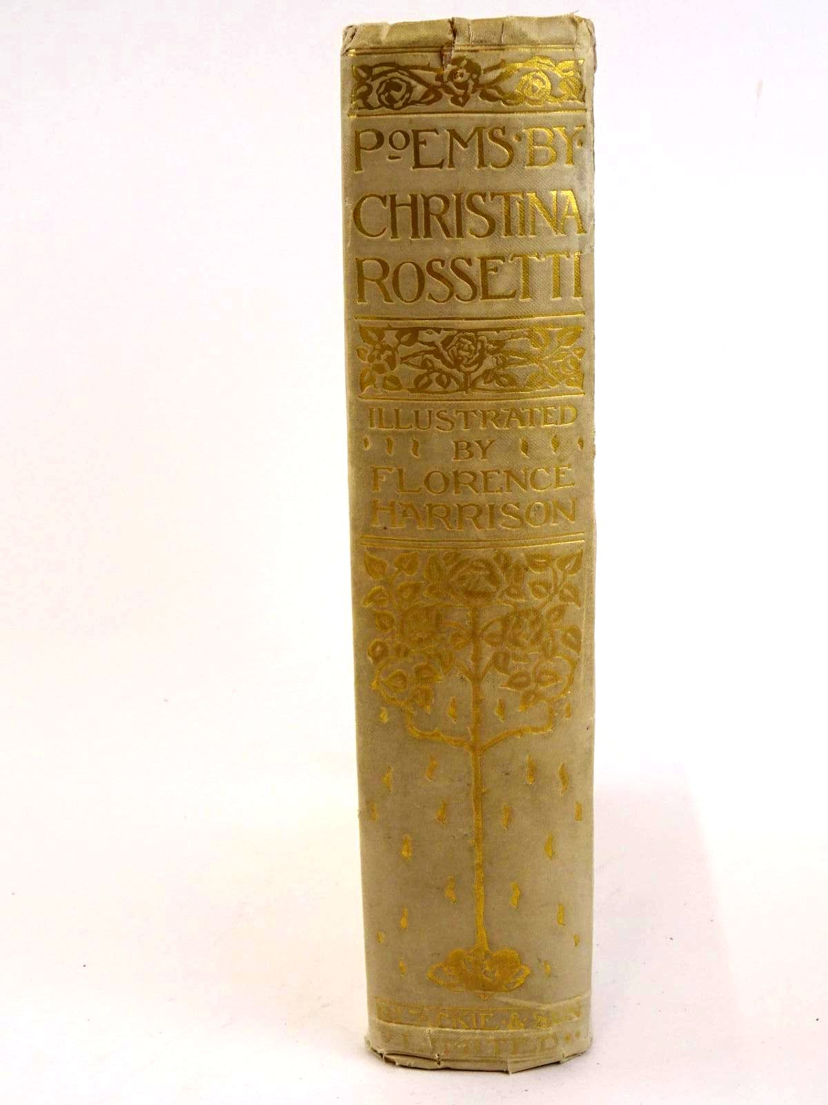Photo of POEMS BY CHRISTINA ROSSETTI written by Rossetti, Christina illustrated by Harrison, Florence published by Blackie & Son Ltd. (STOCK CODE: 1318326)  for sale by Stella & Rose's Books