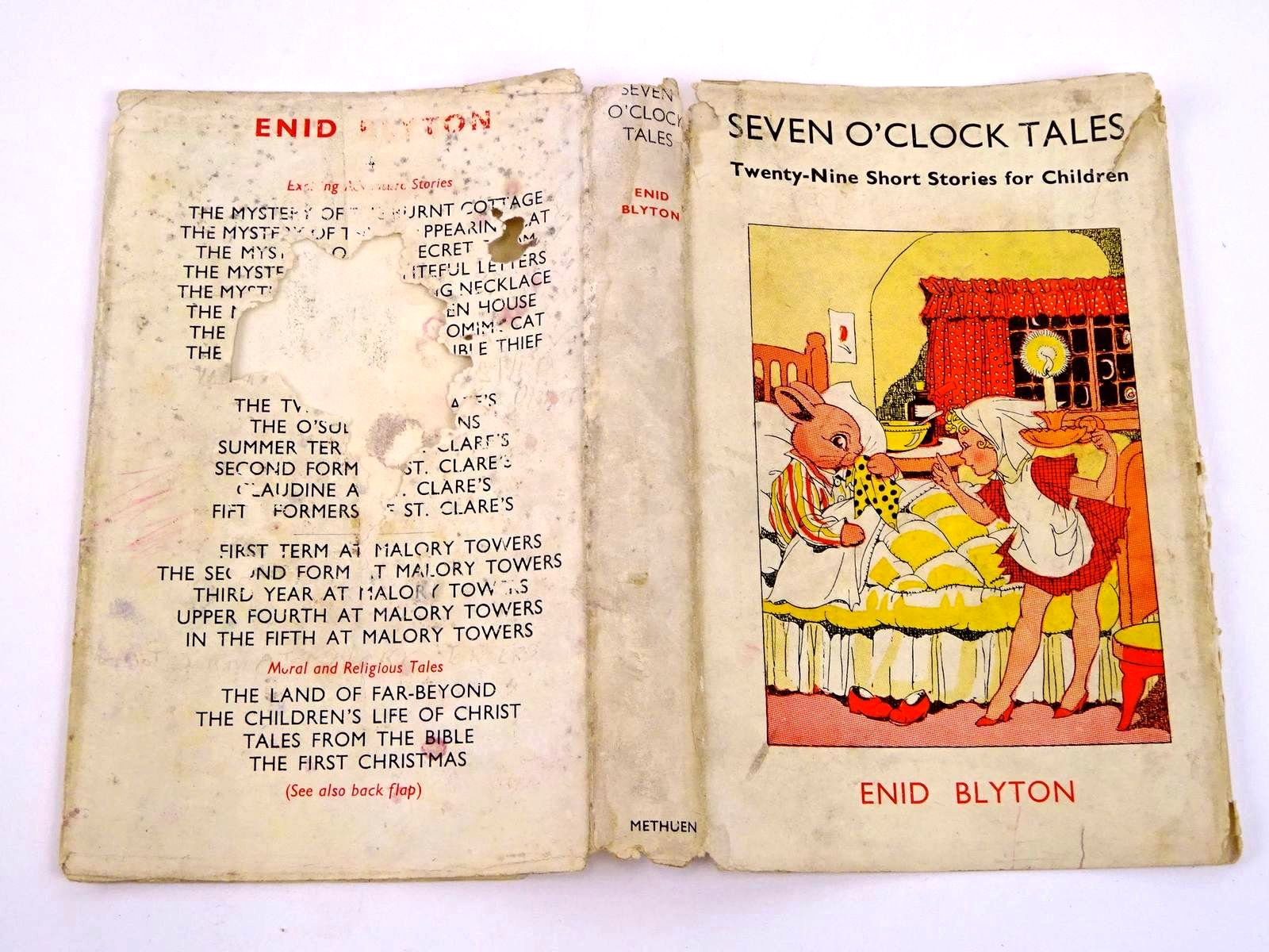 Photo of SEVEN O'CLOCK TALES written by Blyton, Enid illustrated by Wheeler, Dorothy M. published by Methuen & Co. Ltd. (STOCK CODE: 1318327)  for sale by Stella & Rose's Books