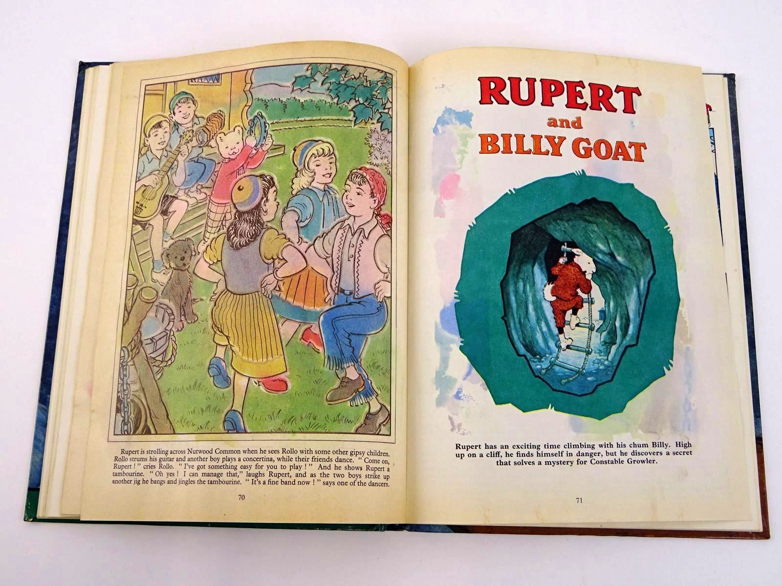 Photo of RUPERT ANNUAL 1966 written by Bestall, Alfred illustrated by Bestall, Alfred published by Daily Express (STOCK CODE: 1318328)  for sale by Stella & Rose's Books