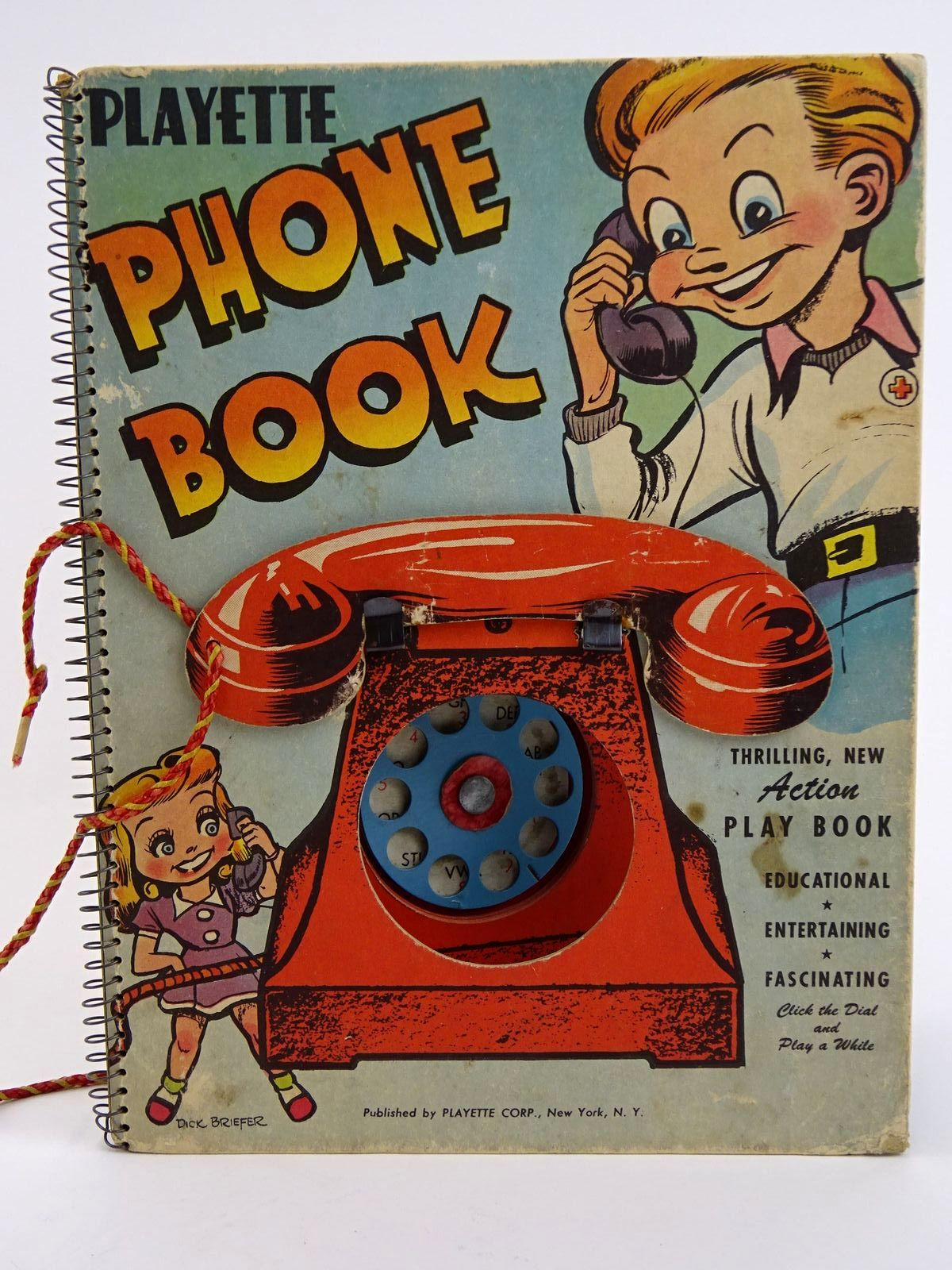 Photo of PLAYETTE PHONE BOOK- Stock Number: 1318330