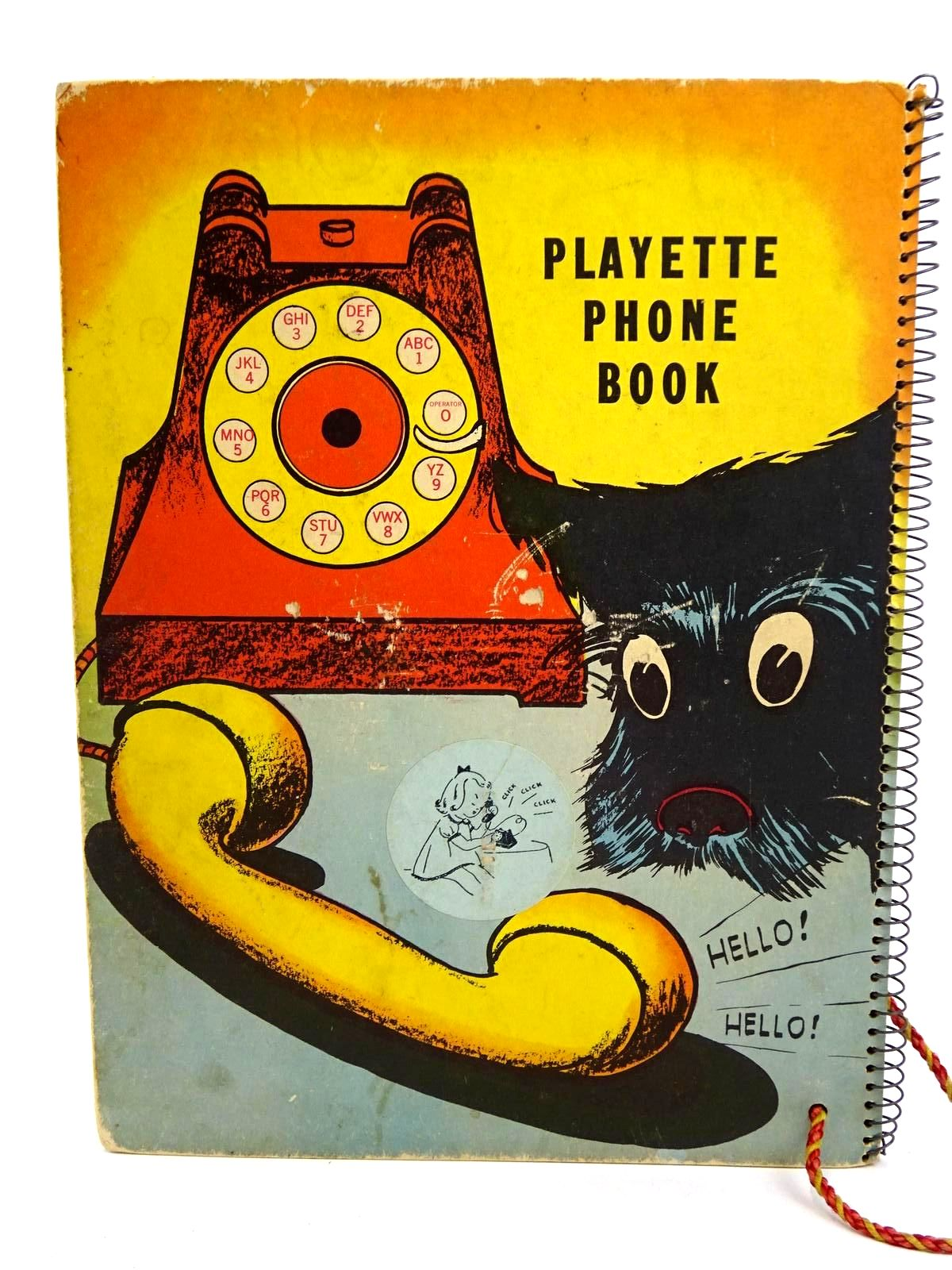 Photo of PLAYETTE PHONE BOOK written by Wise, Larry Goldsmith, M. illustrated by Briefer, Dick published by Playette Corp. (STOCK CODE: 1318330)  for sale by Stella & Rose's Books