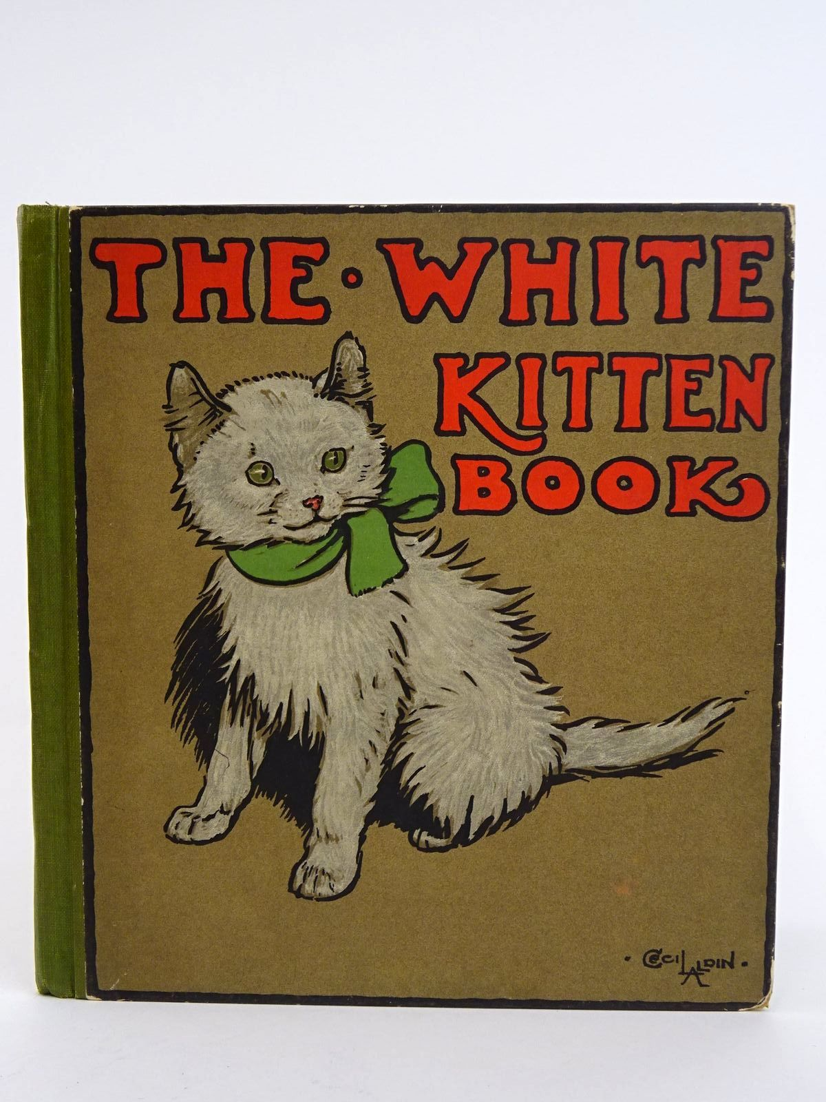 Photo of THE WHITE KITTEN BOOK- Stock Number: 1318331