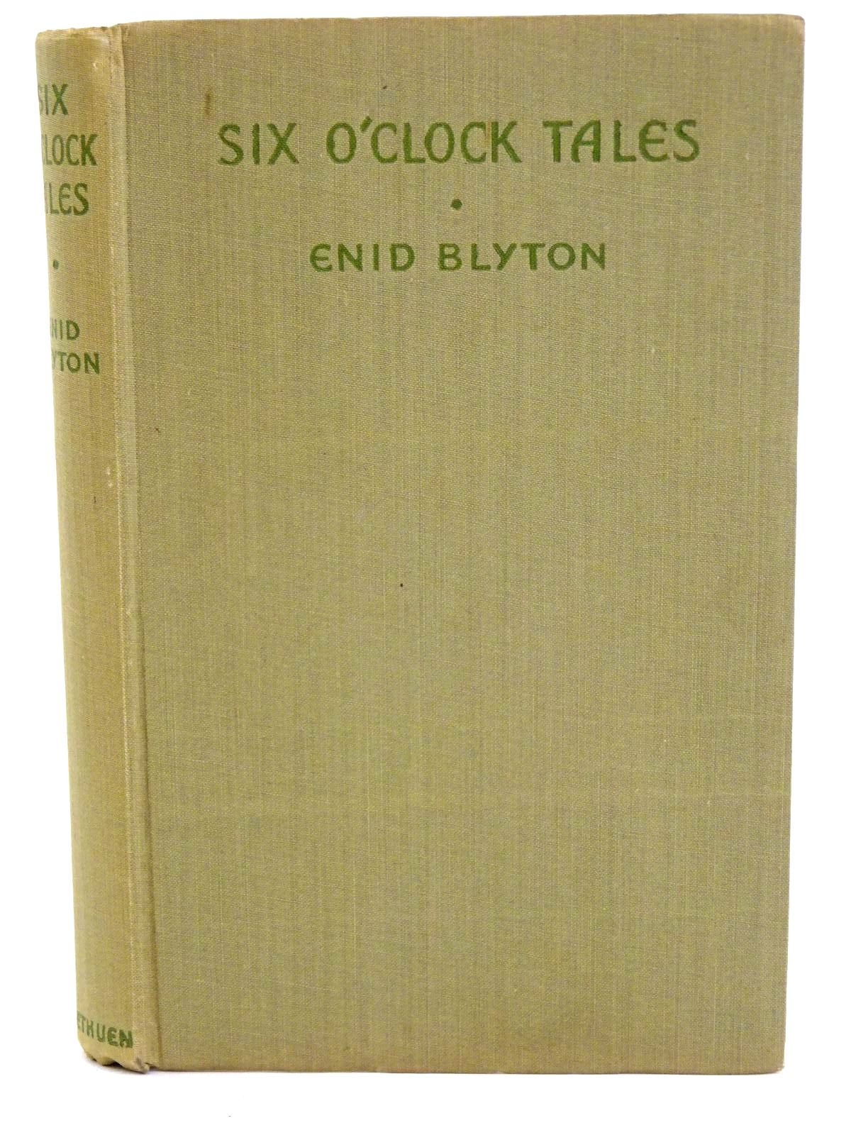 Photo of SIX O'CLOCK TALES written by Blyton, Enid illustrated by Wheeler, Dorothy M. published by Methuen & Co. Ltd. (STOCK CODE: 1318335)  for sale by Stella & Rose's Books