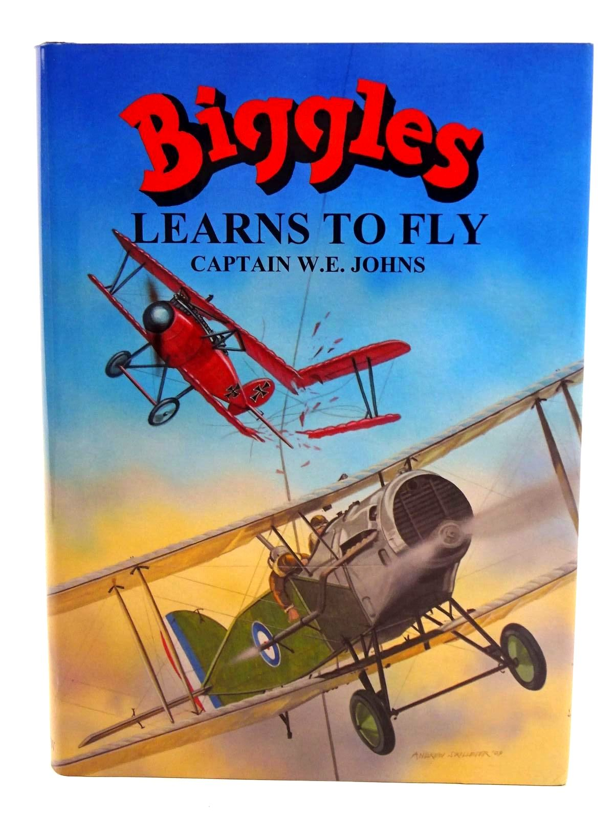 Photo of BIGGLES LEARNS TO FLY