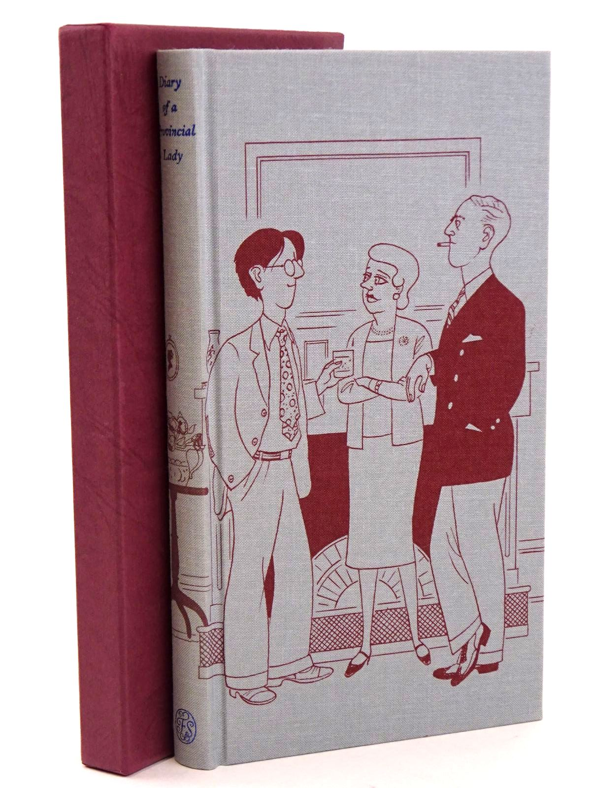 Photo of DIARY OF A PROVINCIAL LADY written by Delafield, E.M.<br />Cooper, Jilly illustrated by Bentley, Nicolas published by Folio Society (STOCK CODE: 1318356)  for sale by Stella & Rose's Books