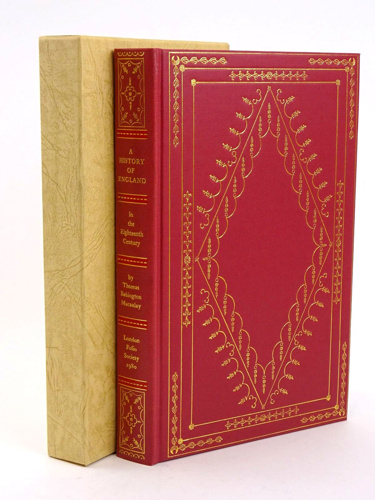 Photo of THE HISTORY OF ENGLAND IN THE EIGHTEENTH CENTURY written by Macaulay, Thomas Babington<br />Rowland, Peter published by Folio Society (STOCK CODE: 1318361)  for sale by Stella & Rose's Books