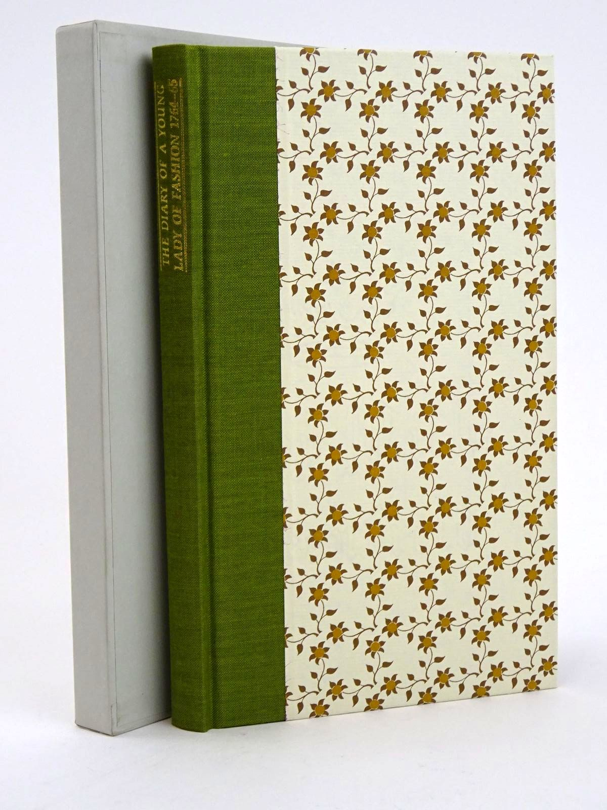 Photo of THE DIARY OF A YOUNG LADY OF FASHION IN 1764-5 written by King-Hall, Magdalen illustrated by Martin, Frank published by Folio Society (STOCK CODE: 1318364)  for sale by Stella & Rose's Books