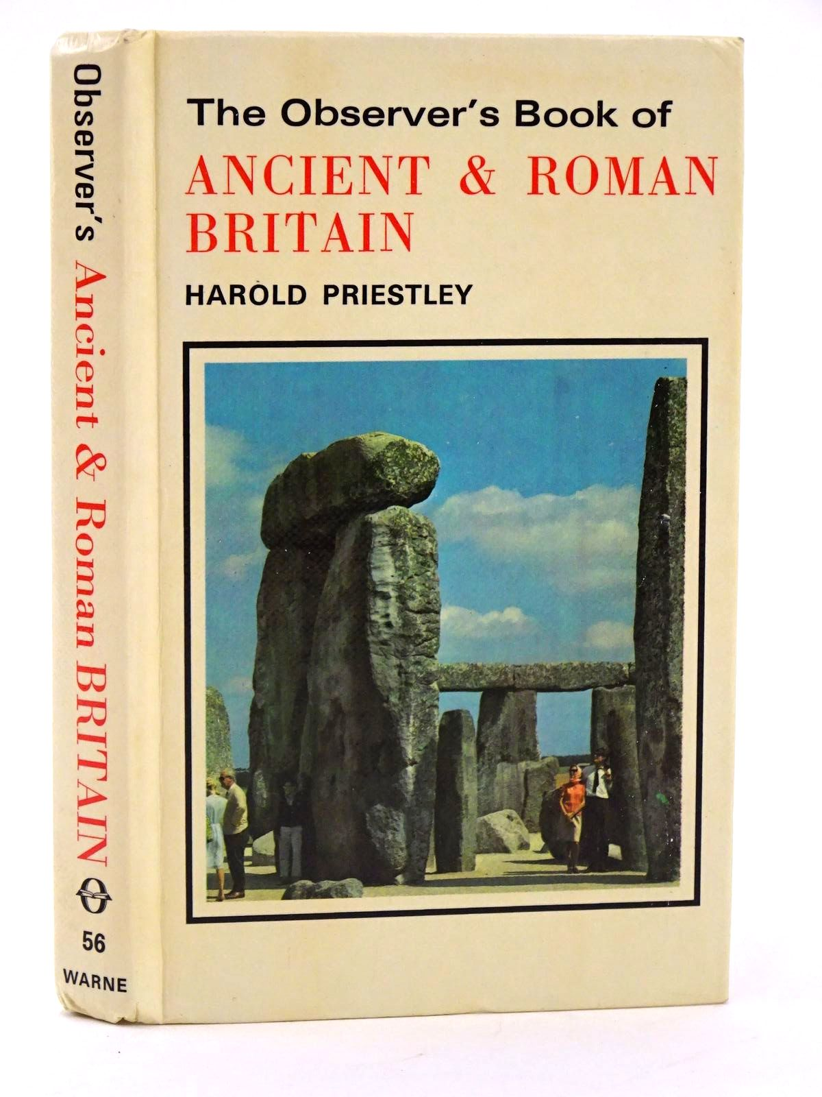 Photo of THE OBSERVER'S BOOK OF ANCIENT AND ROMAN BRITAIN written by Priestley, Harold published by Frederick Warne (STOCK CODE: 1318366)  for sale by Stella & Rose's Books