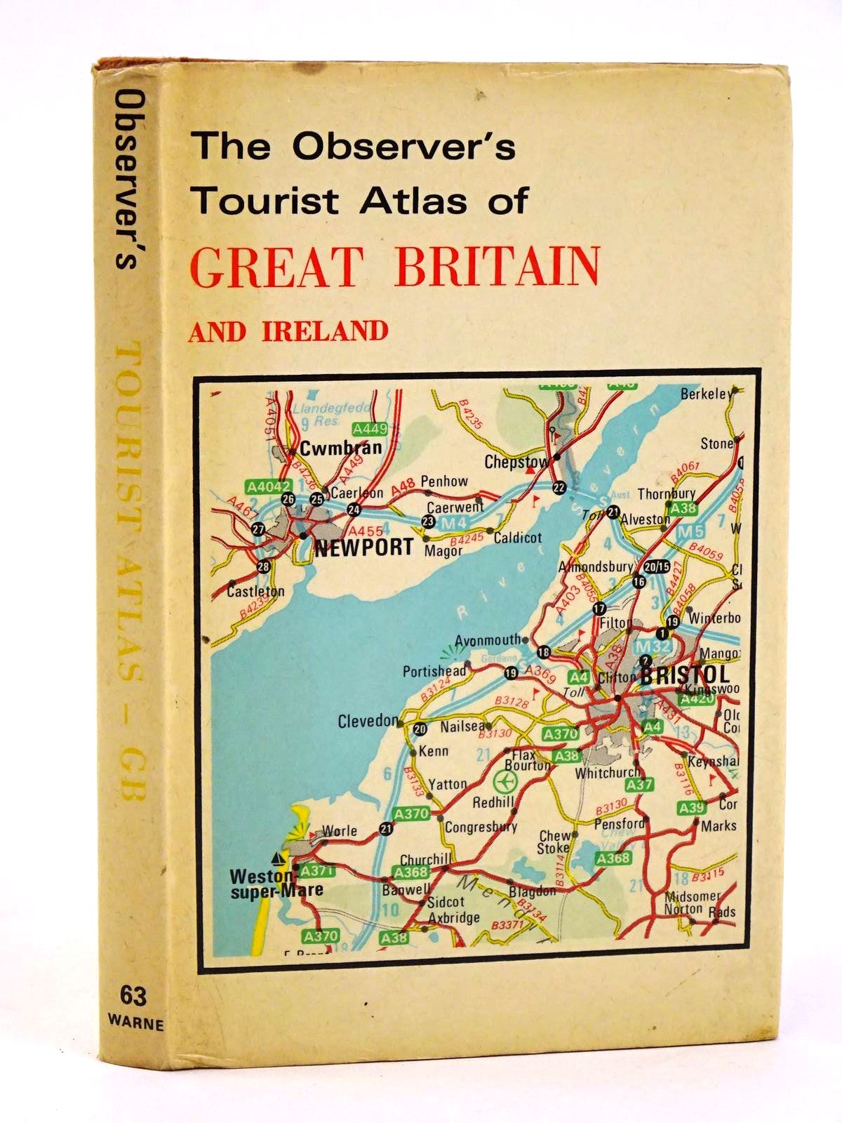 Photo of THE OBSERVER'S TOURIST ATLAS OF GREAT BRITAIN AND IRELAND- Stock Number: 1318369