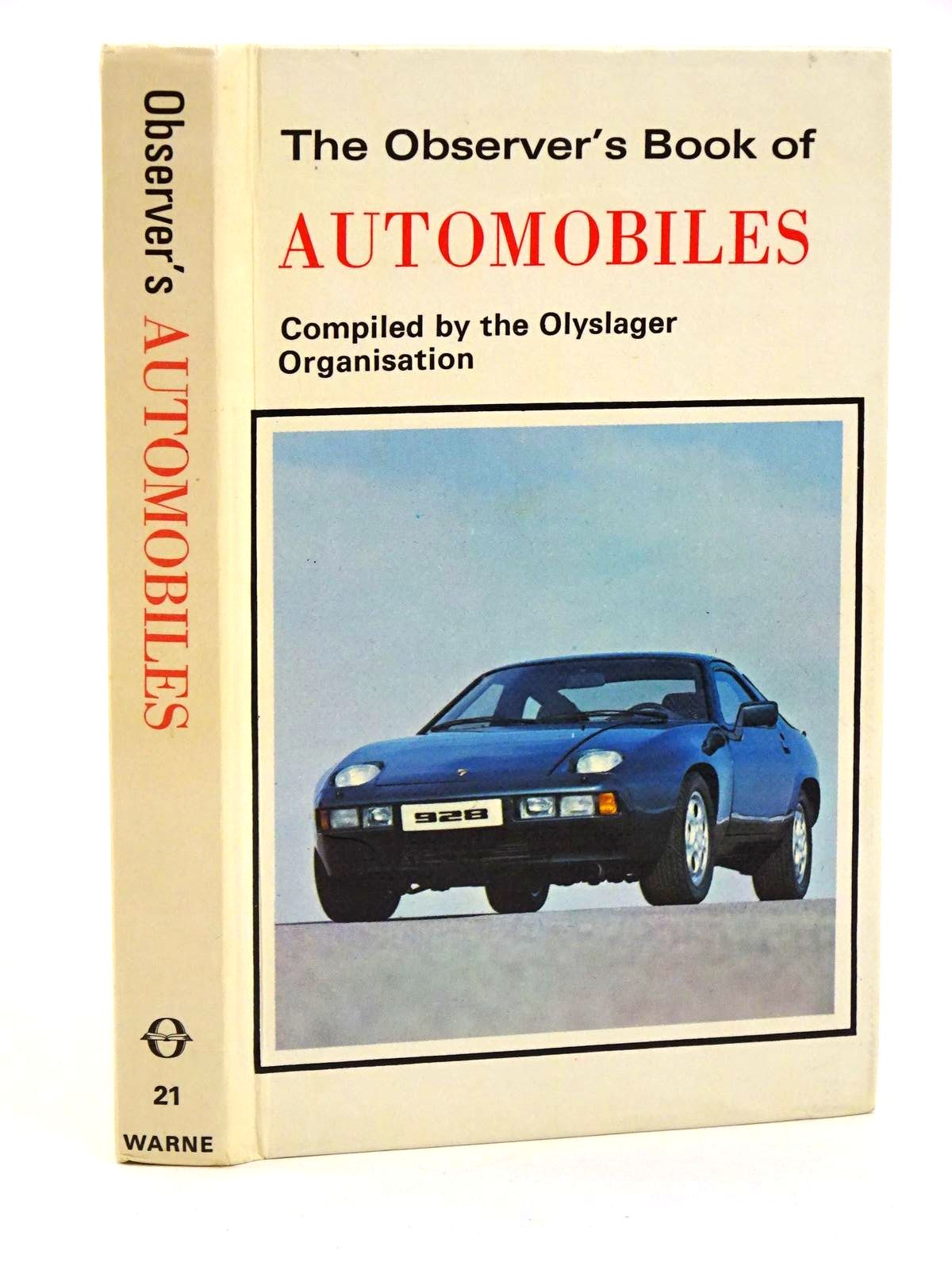 Photo of THE OBSERVER'S BOOK OF AUTOMOBILES published by Frederick Warne (STOCK CODE: 1318374)  for sale by Stella & Rose's Books