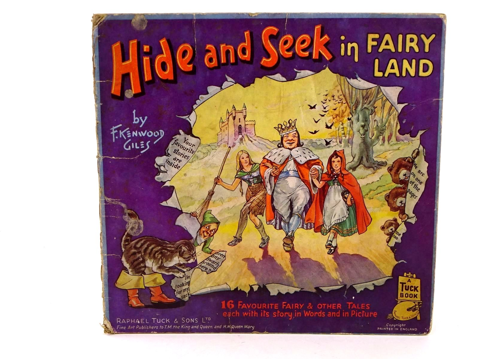 Photo of HIDE AND SEEK IN FAIRY LAND written by Giles, F. Kenwood illustrated by Giles, F. Kenwood published by Raphael Tuck & Sons Ltd. (STOCK CODE: 1318378)  for sale by Stella & Rose's Books