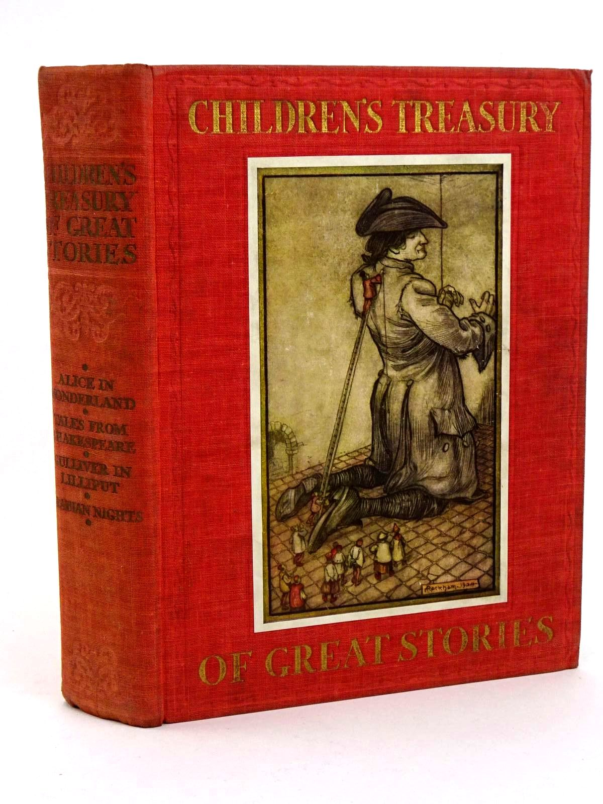 Photo of CHILDREN'S TREASURY OF GREAT STORIES written by Carroll, Lewis Shakespeare, William Swift, Jonathan et al,  illustrated by Rountree, Harry Munro, Helen Rackham, Arthur et al.,  published by Daily Express (STOCK CODE: 1318385)  for sale by Stella & Rose's Books