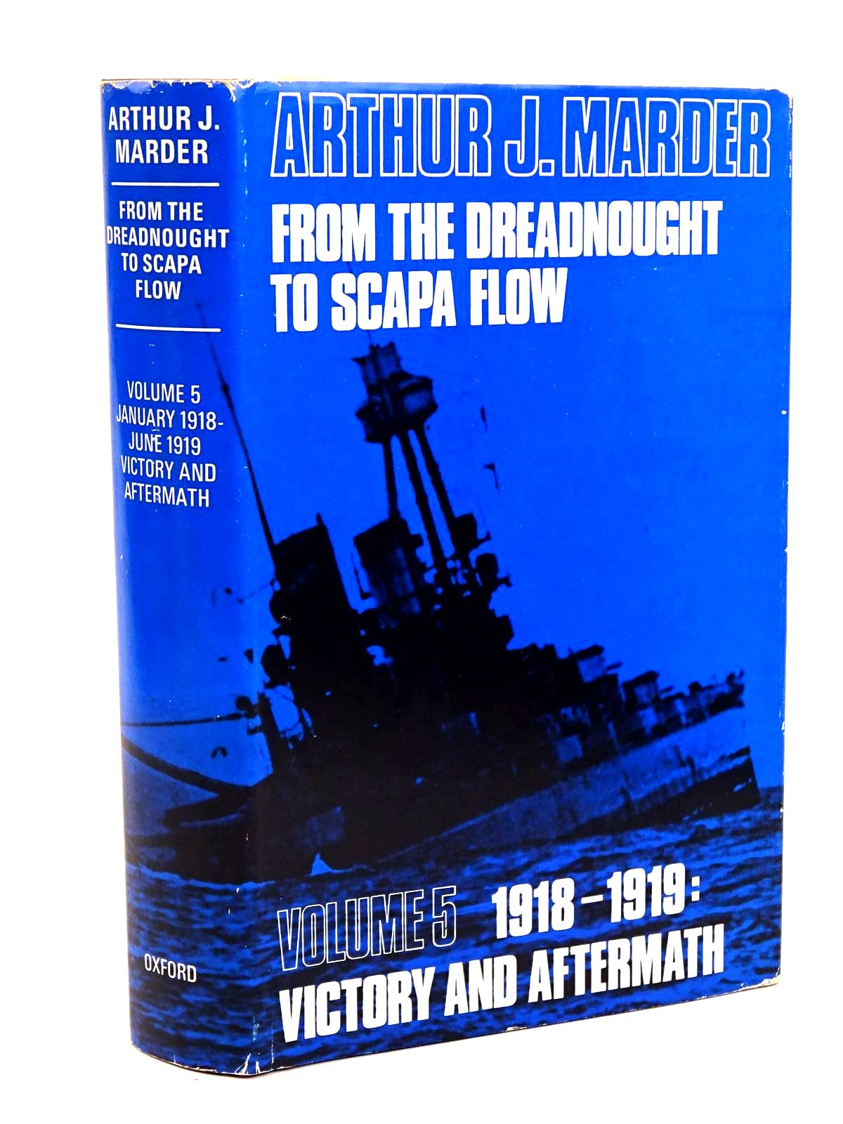 Photo of FROM THE DREADNOUGHT TO SCAPA FLOW VOLUME V written by Marder, Arthur J. published by Oxford University Press (STOCK CODE: 1318389)  for sale by Stella & Rose's Books