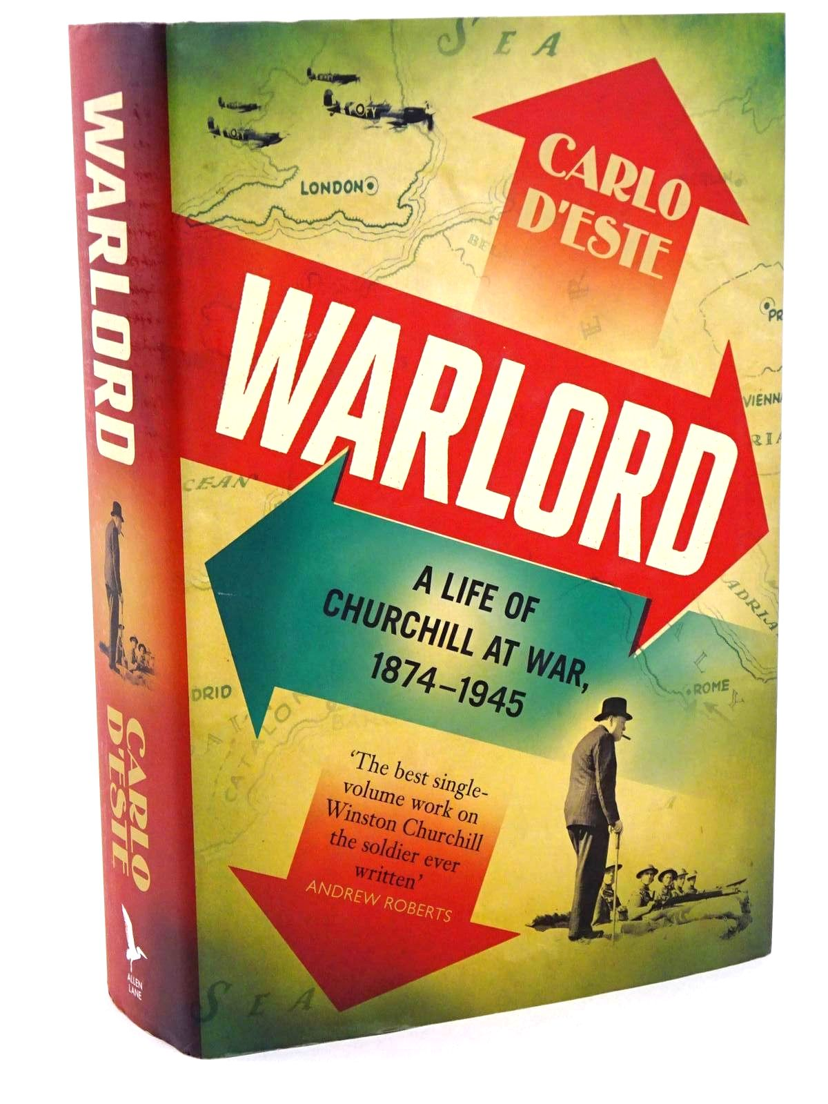 Photo of WARLORD A LIFE OF CHURCHILL AT WAR, 1874-1945- Stock Number: 1318390