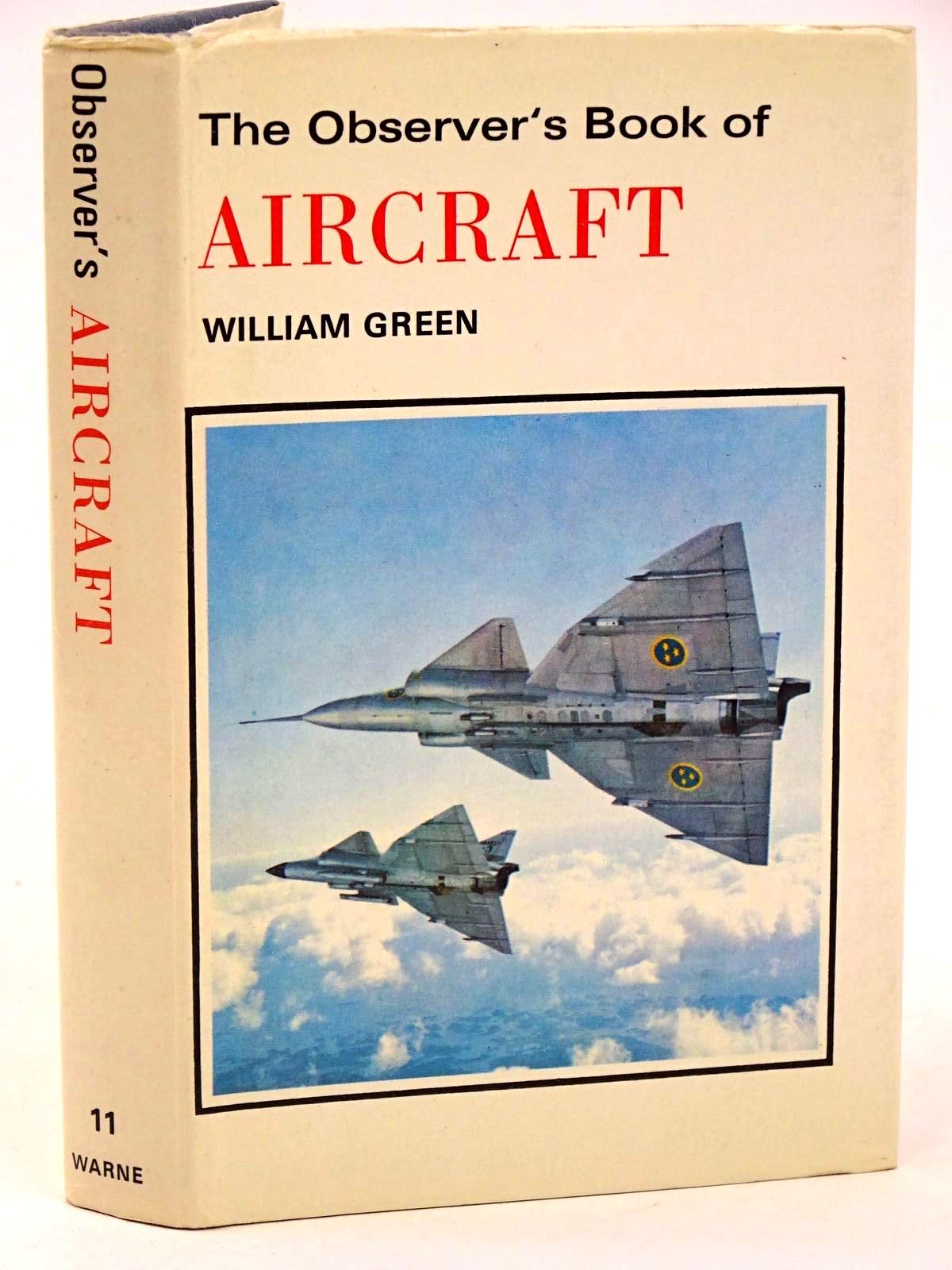 Photo of THE OBSERVER'S BOOK OF AIRCRAFT written by Green, William illustrated by Punnett, Dennis published by Frederick Warne & Co Ltd. (STOCK CODE: 1318404)  for sale by Stella & Rose's Books