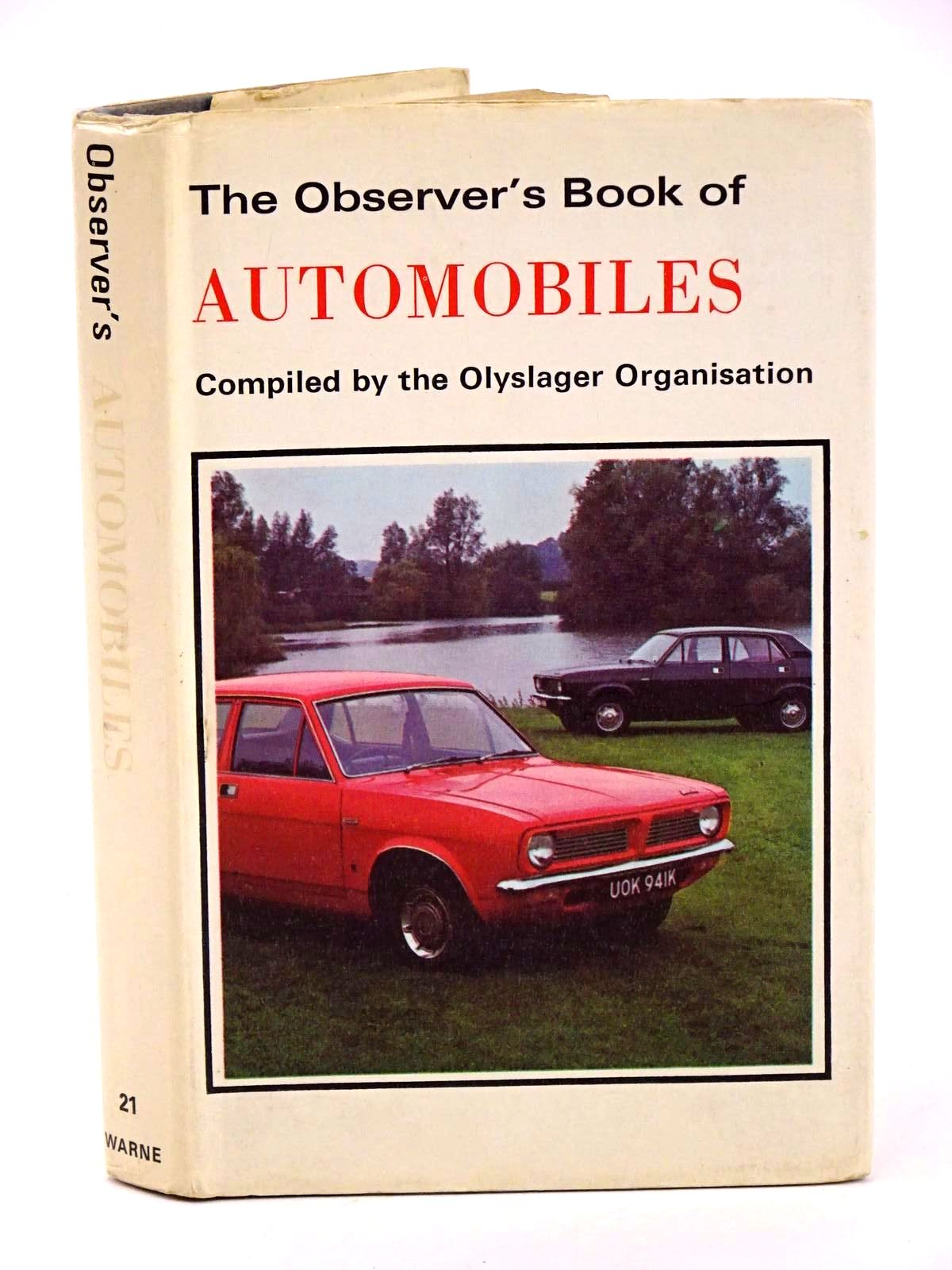 Photo of THE OBSERVER'S BOOK OF AUTOMOBILES published by Frederick Warne & Co Ltd. (STOCK CODE: 1318405)  for sale by Stella & Rose's Books