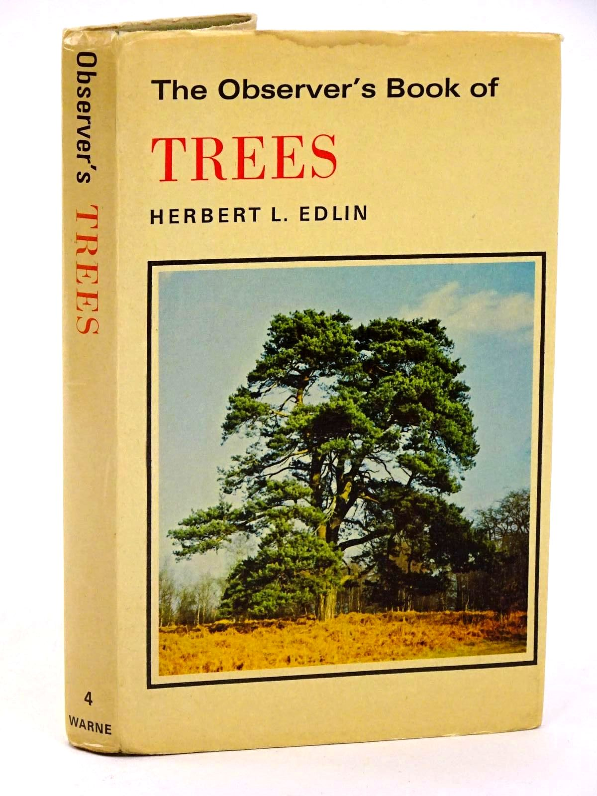 Photo of THE OBSERVER'S BOOK OF TREES written by Edlin, Herbert L. published by Frederick Warne & Co Ltd. (STOCK CODE: 1318408)  for sale by Stella & Rose's Books