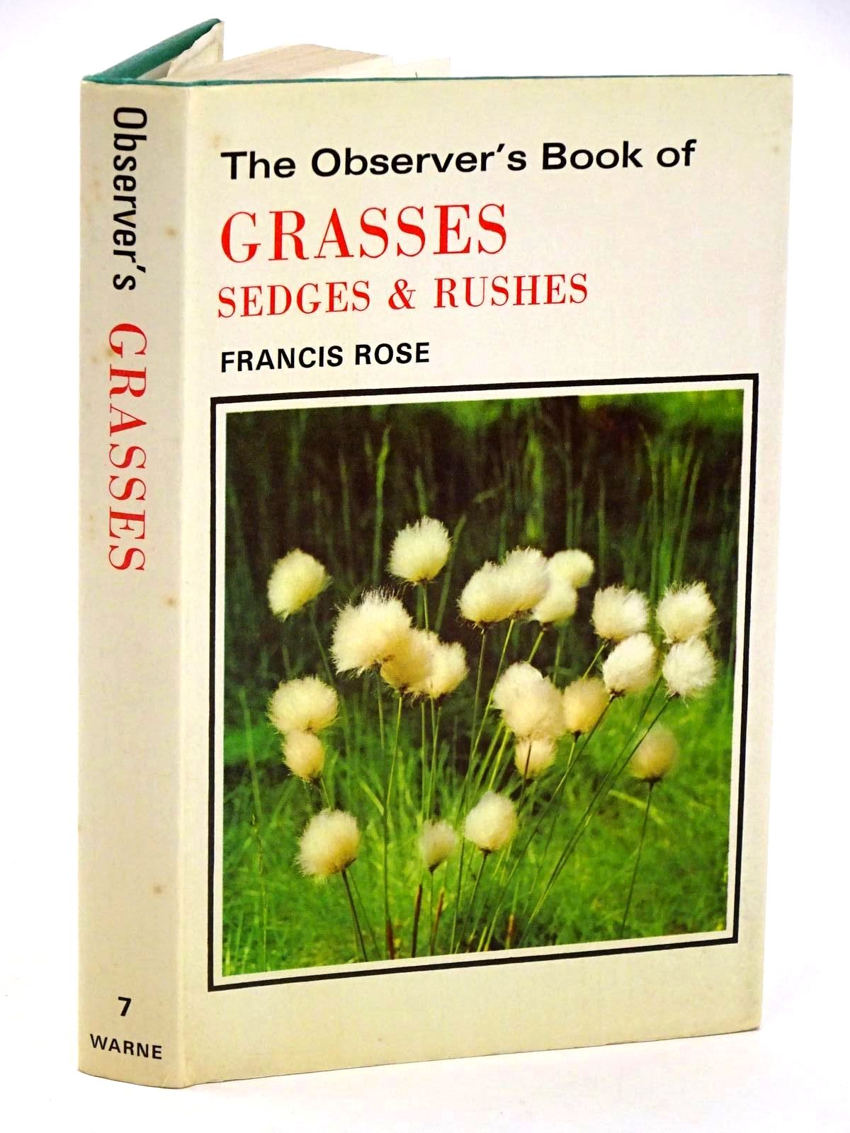 Photo of THE OBSERVER'S BOOK OF GRASSES SEDGES AND RUSHES- Stock Number: 1318412