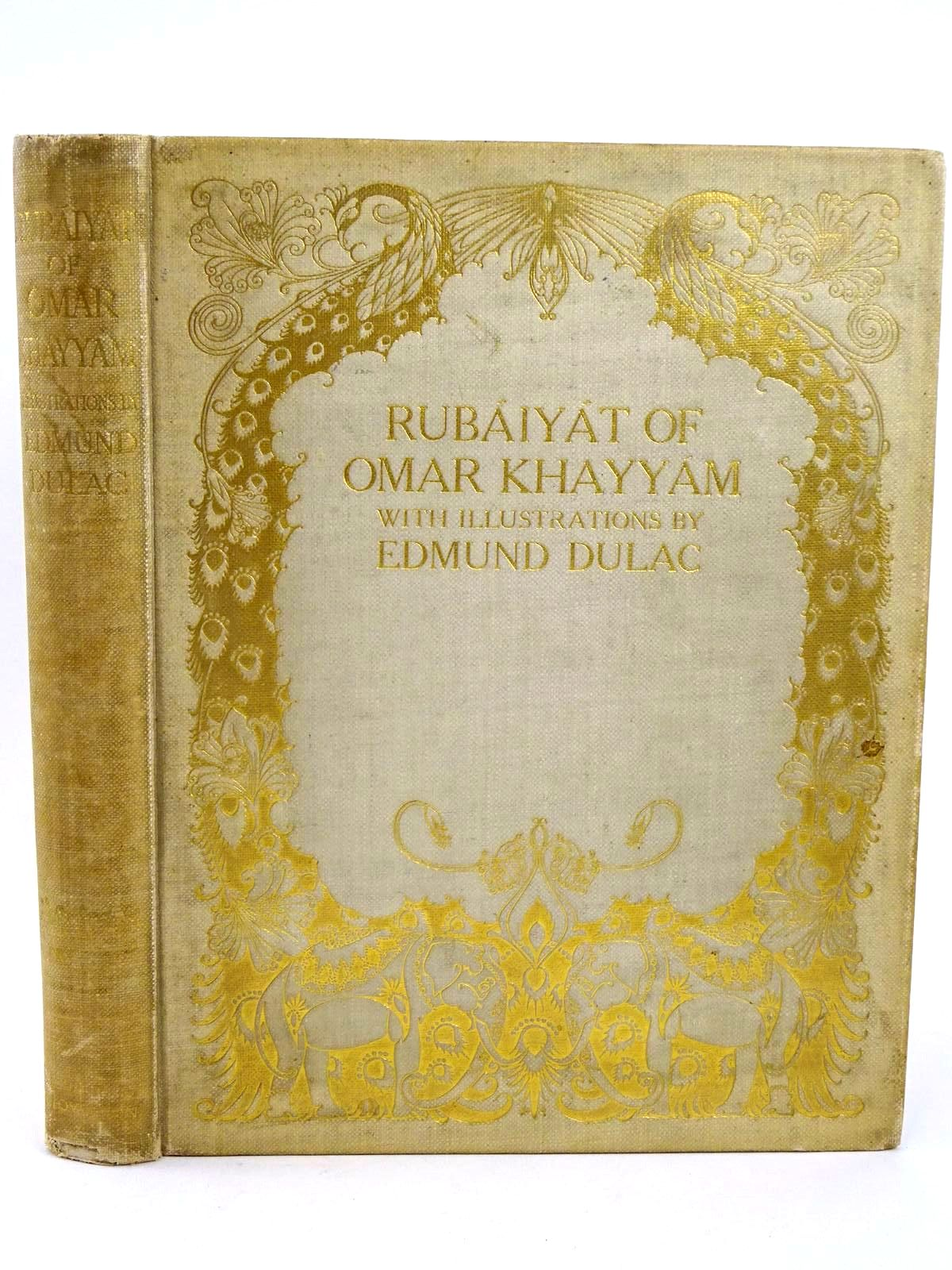 Photo of RUBAIYAT OF OMAR KHAYYAM written by Fitzgerald, Edward illustrated by Dulac, Edmund published by Hodder & Stoughton (STOCK CODE: 1318416)  for sale by Stella & Rose's Books