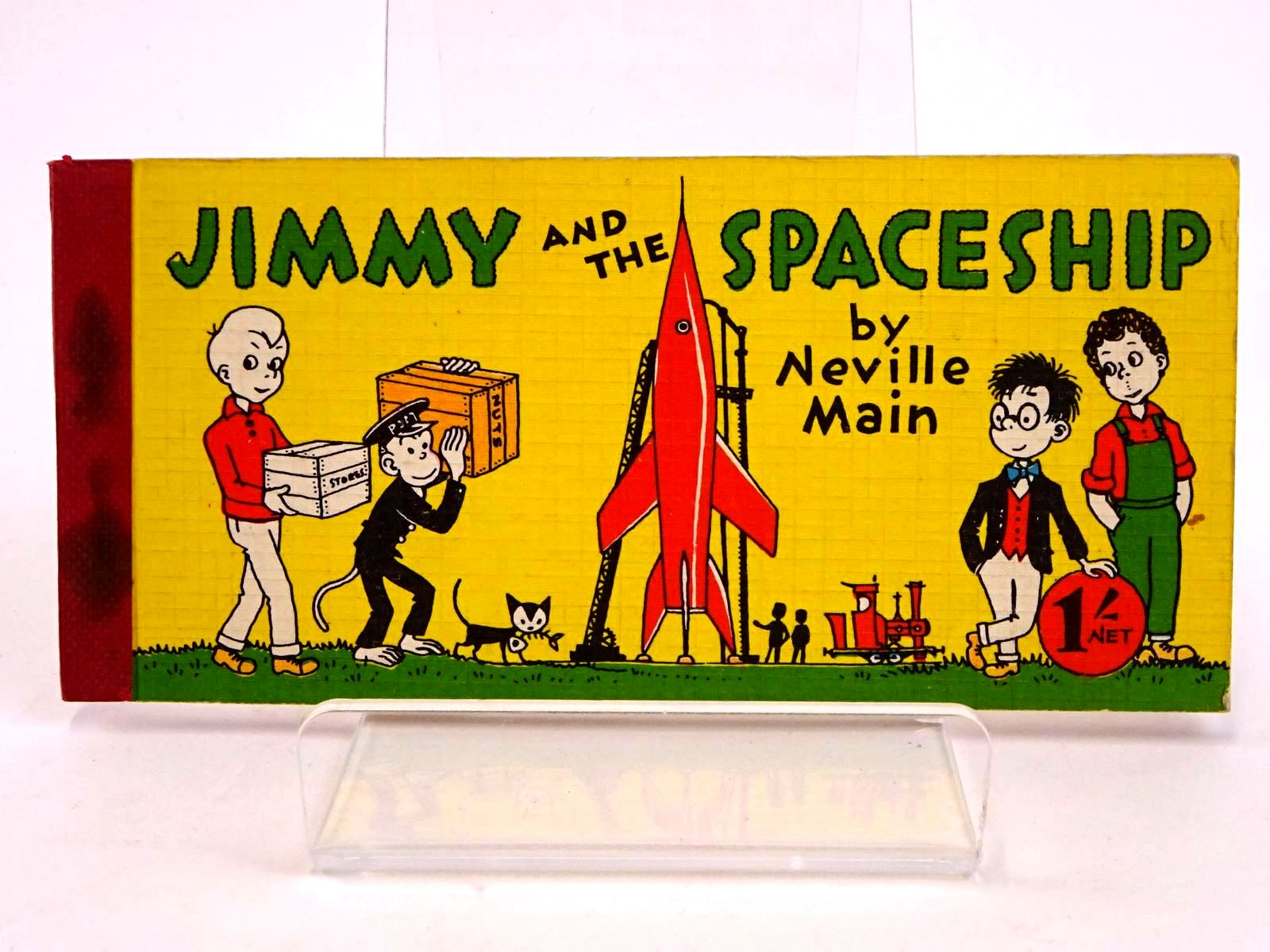 Photo of JIMMY AND THE SPACESHIP written by Main, Neville published by Brockhampton Press Ltd. (STOCK CODE: 1318417)  for sale by Stella & Rose's Books