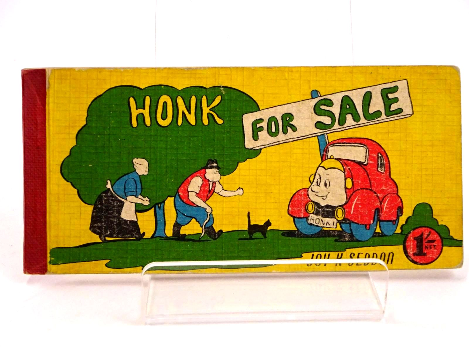 Photo of HONK FOR SALE written by Seddon, Joy K. illustrated by Seddon, Joy K. published by The Brockhampton Press Ltd. (STOCK CODE: 1318424)  for sale by Stella & Rose's Books