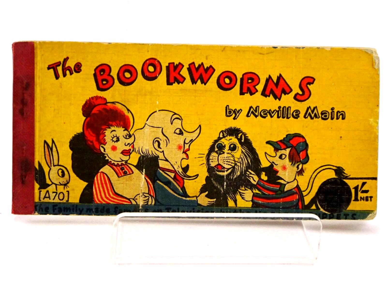 Photo of THE BOOKWORMS written by Main, Neville illustrated by Main, Neville published by Brockhampton Press Ltd. (STOCK CODE: 1318439)  for sale by Stella & Rose's Books