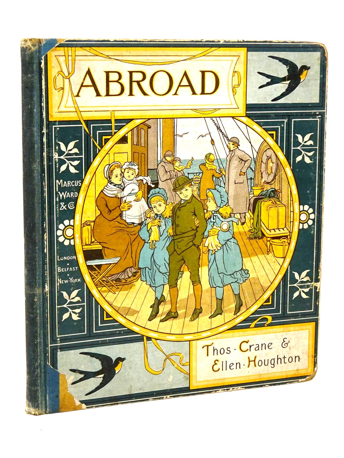 Photo of ABROAD written by Crane, Thomas<br />Houghton, Ellen illustrated by Crane, Thomas published by Marcus Ward &amp; Co. (STOCK CODE: 1318460)  for sale by Stella & Rose's Books