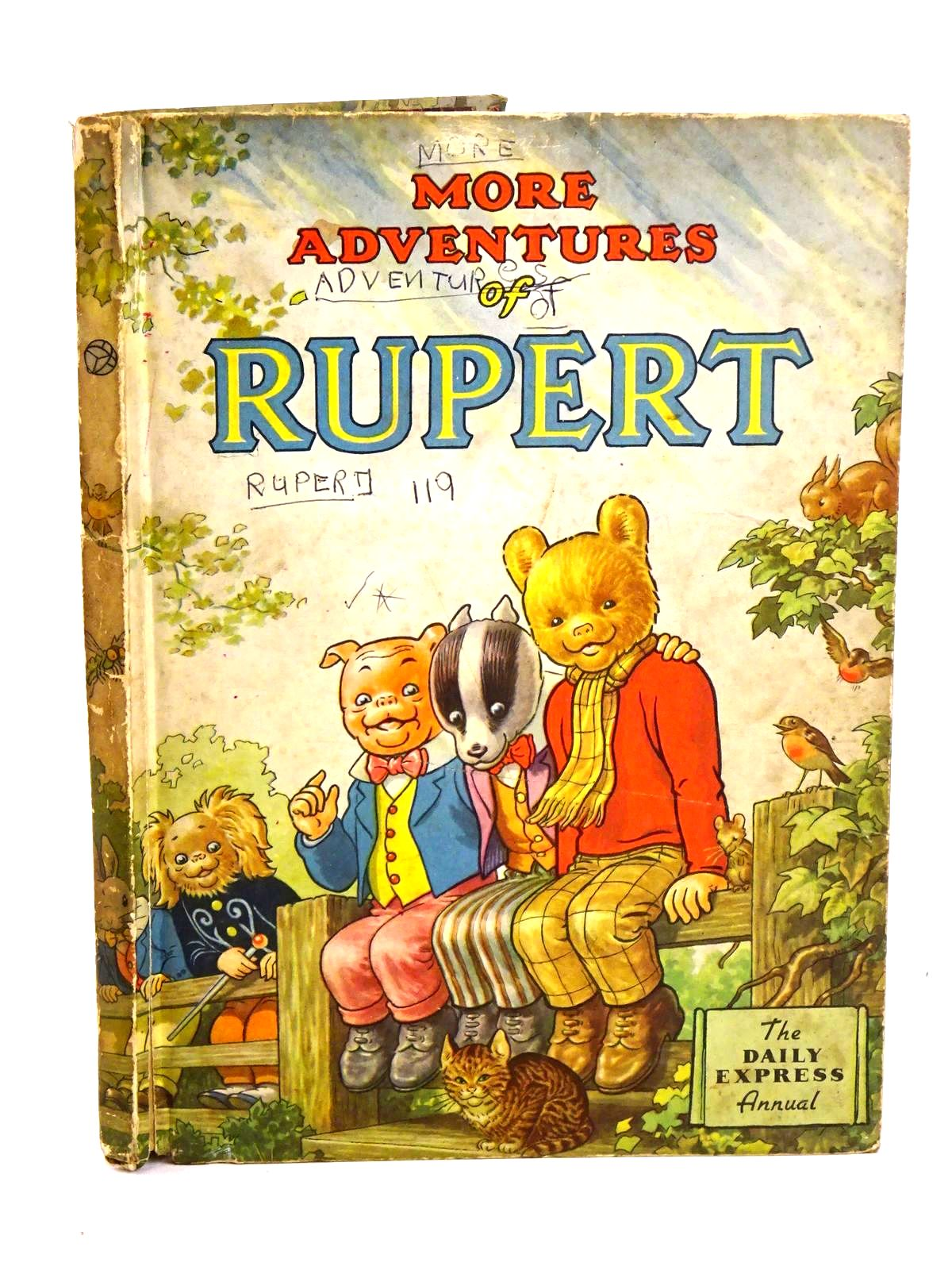 Photo of RUPERT ANNUAL 1953 - MORE ADVENTURES OF RUPERT written by Bestall, Alfred illustrated by Bestall, Alfred published by Daily Express (STOCK CODE: 1318461)  for sale by Stella & Rose's Books