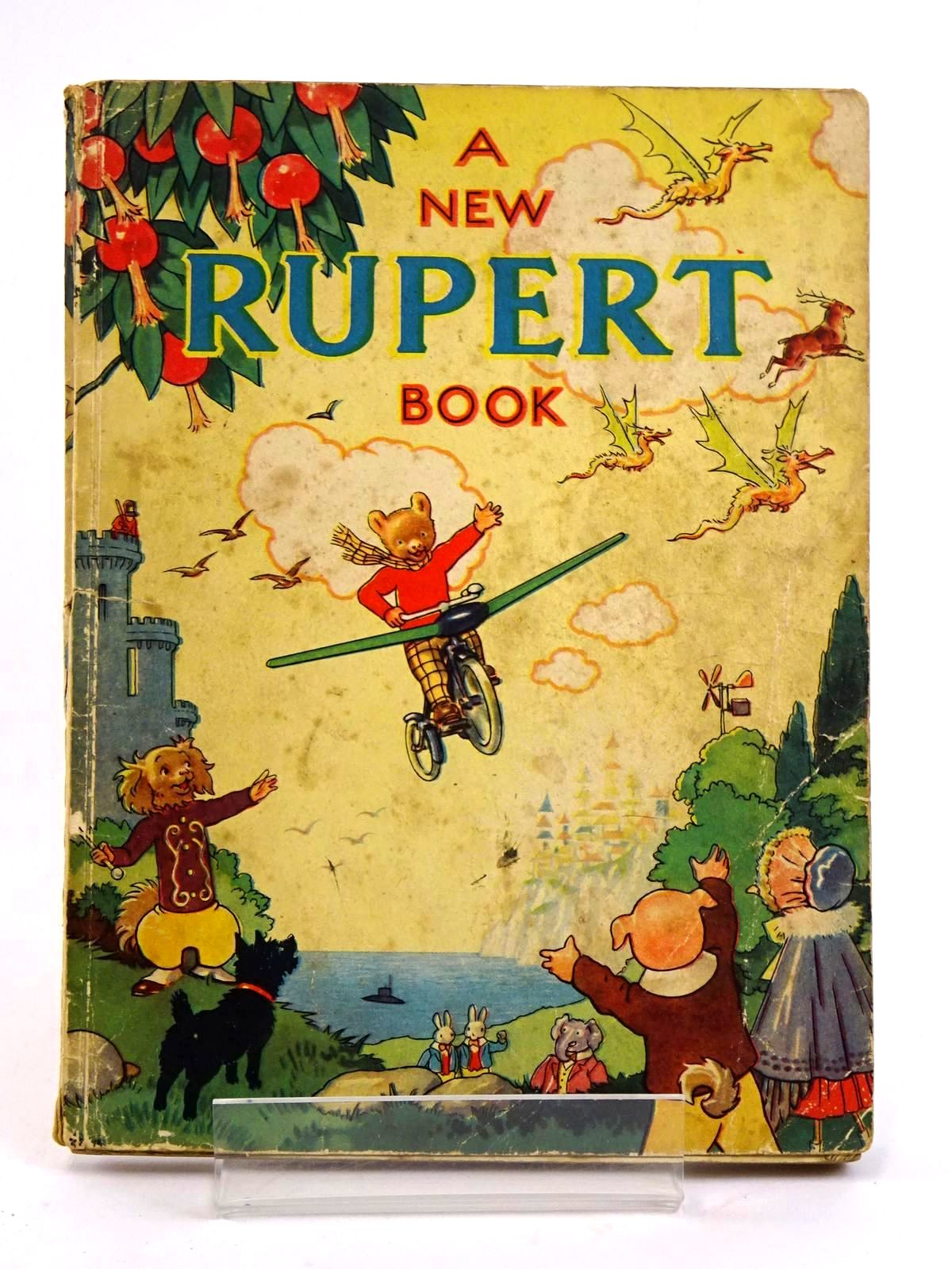 Photo of RUPERT ANNUAL 1945 - A NEW RUPERT BOOK written by Bestall, Alfred illustrated by Bestall, Alfred published by Daily Express (STOCK CODE: 1318463)  for sale by Stella & Rose's Books