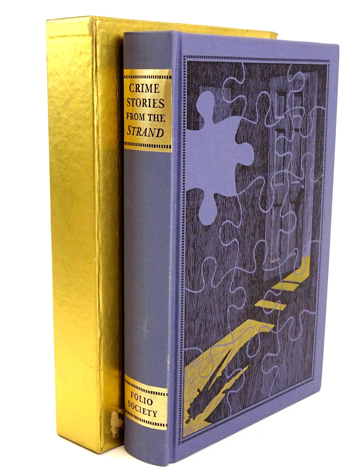 Photo of CRIME STORIES FROM THE 'STRAND' written by Beare, Geraldine<br />Keating, H.R.F. illustrated by Eccles, David published by Folio Society (STOCK CODE: 1318480)  for sale by Stella & Rose's Books