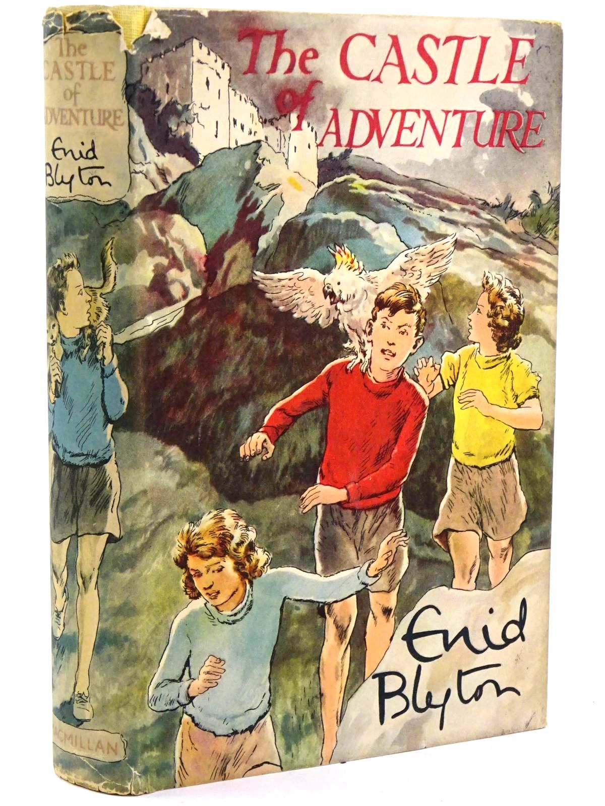 Photo of THE CASTLE OF ADVENTURE written by Blyton, Enid illustrated by Tresilian, Stuart published by Macmillan & Co. Ltd. (STOCK CODE: 1318488)  for sale by Stella & Rose's Books