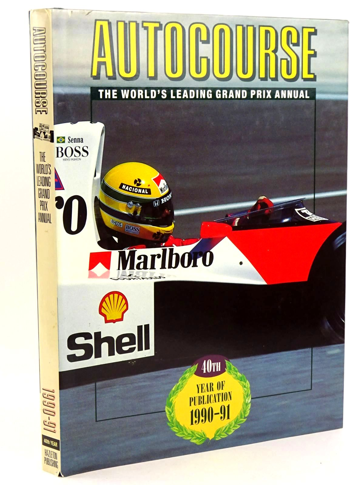 Photo of AUTOCOURSE 1990-91 written by Henry, Alan published by Hazleton Publishing (STOCK CODE: 1318499)  for sale by Stella & Rose's Books