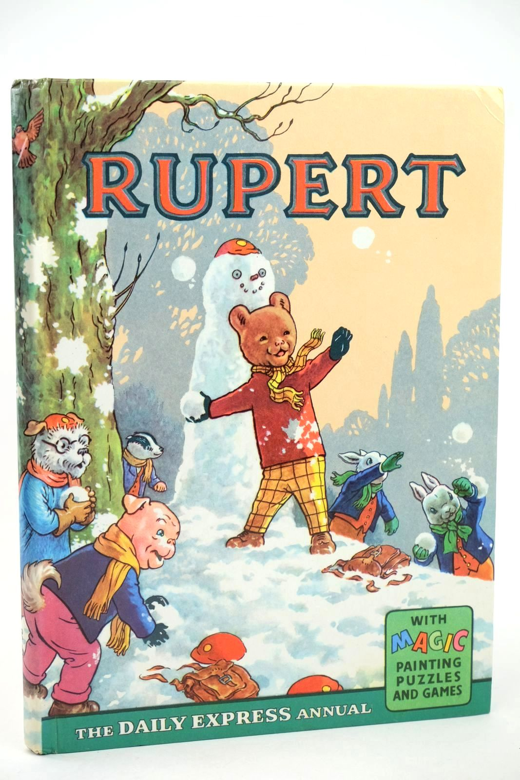 Photo of RUPERT ANNUAL 1962 written by Bestall, Alfred illustrated by Bestall, Alfred published by Daily Express (STOCK CODE: 1318501)  for sale by Stella & Rose's Books
