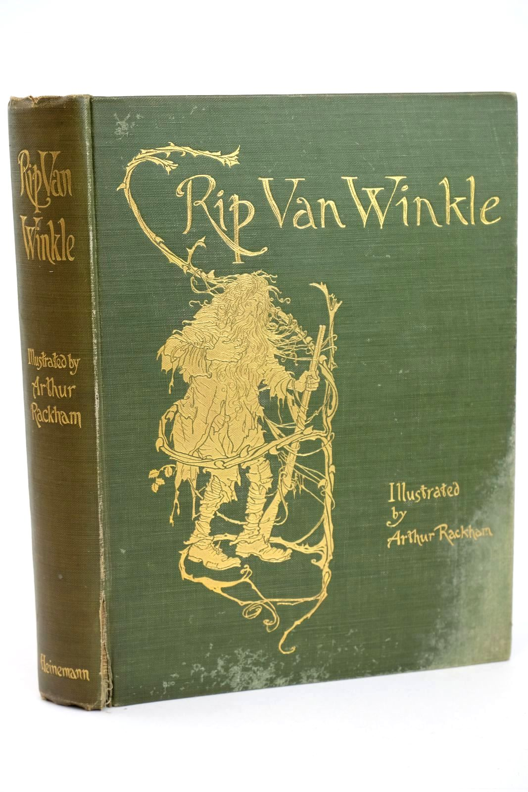 Photo of RIP VAN WINKLE written by Irving, Washington illustrated by Rackham, Arthur published by William Heinemann (STOCK CODE: 1318503)  for sale by Stella & Rose's Books