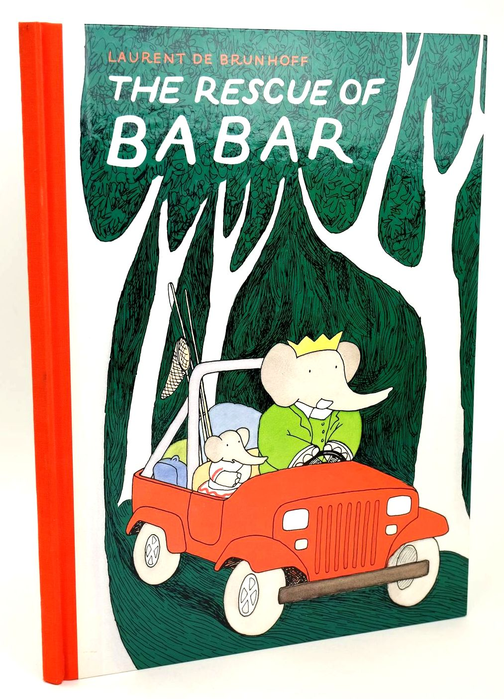 Photo of THE RESCUE OF BABAR written by De Brunhoff, Laurent illustrated by De Brunhoff, Laurent published by Methuen Children's Books Ltd. (STOCK CODE: 1318541)  for sale by Stella & Rose's Books