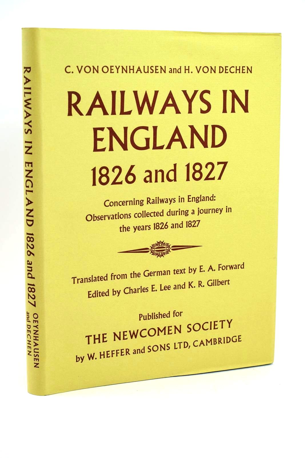 Photo of RAILWAYS IN ENGLAND 1826 AND 1827- Stock Number: 1318544