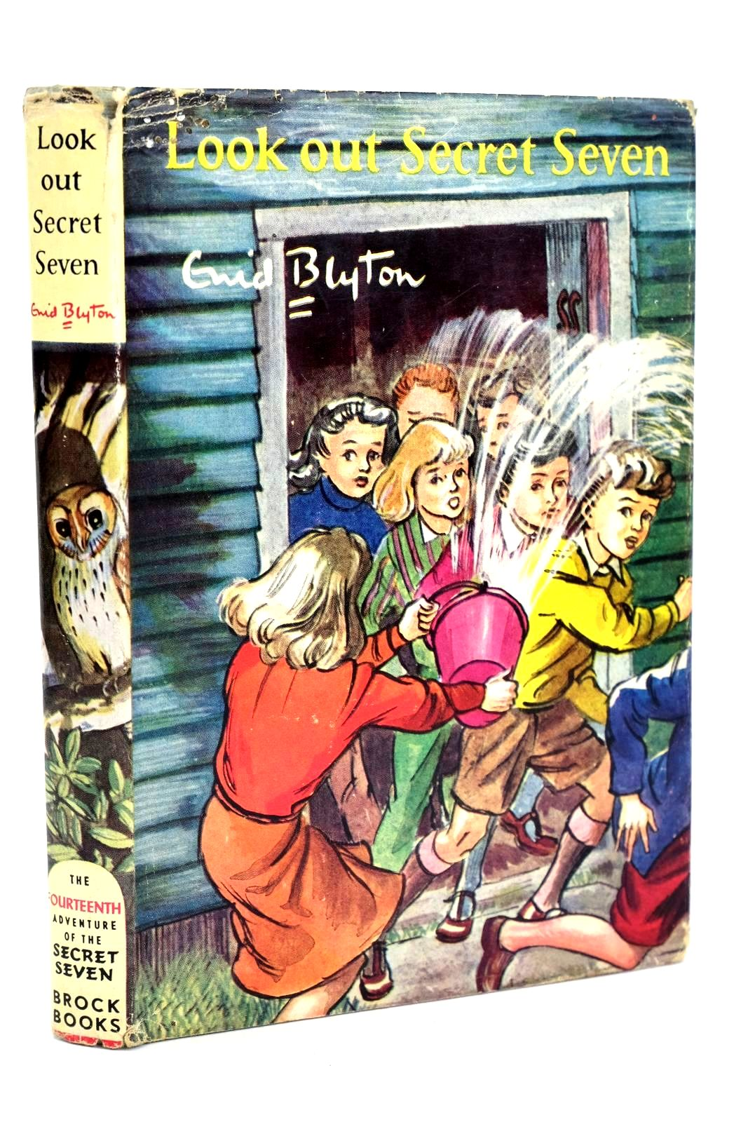Photo of LOOK OUT SECRET SEVEN written by Blyton, Enid illustrated by Sharrocks, Burgess published by Brockhampton Press (STOCK CODE: 1318545)  for sale by Stella & Rose's Books