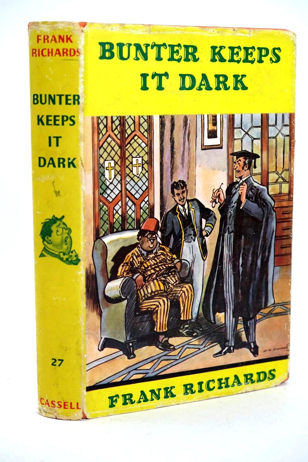 Photo of BUNTER KEEPS IT DARK- Stock Number: 1318547