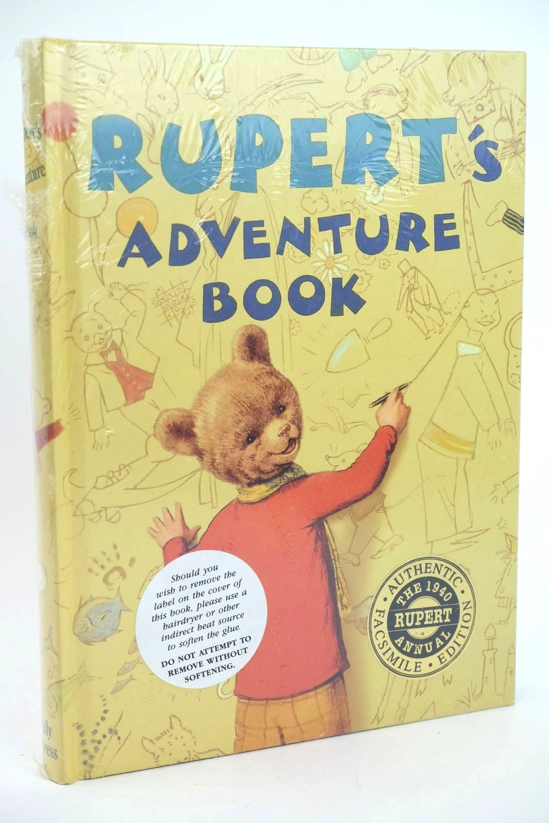 Photo of RUPERT ANNUAL 1940 (FACSIMILE) - RUPERT'S ADVENTURE BOOK- Stock Number: 1318559