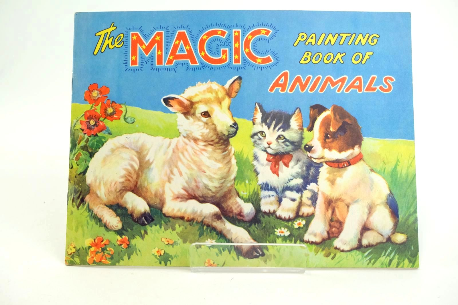 Photo of THE MAGIC PAINTING BOOK OF ANIMALS- Stock Number: 1318563