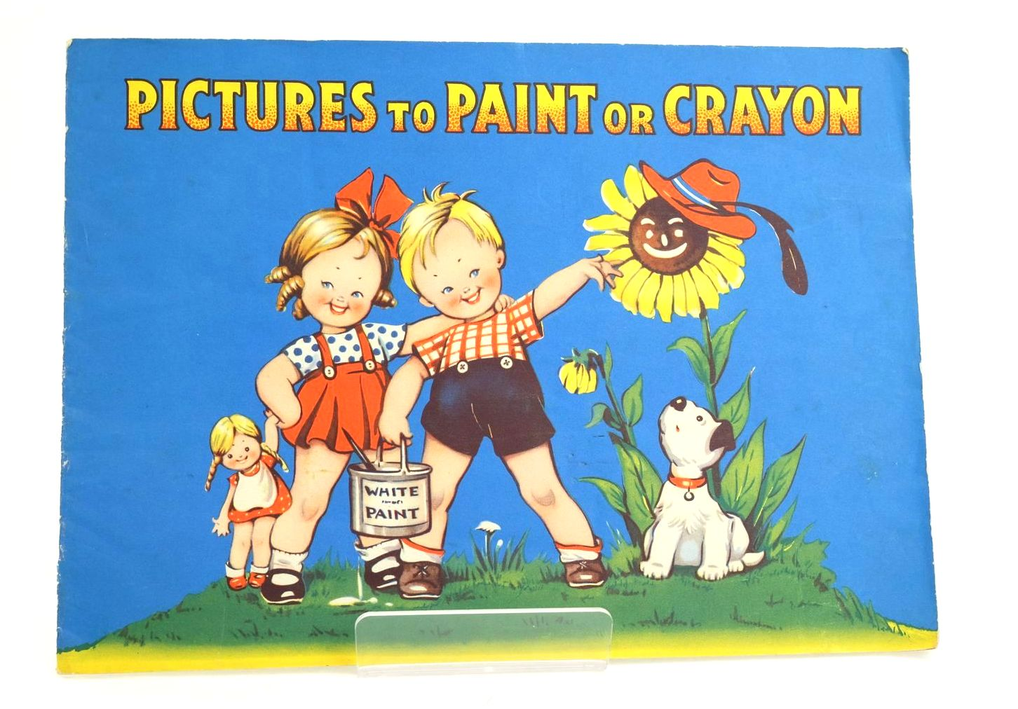Photo of PICTURES TO PAINT OR CRAYON (STOCK CODE: 1318566)  for sale by Stella & Rose's Books