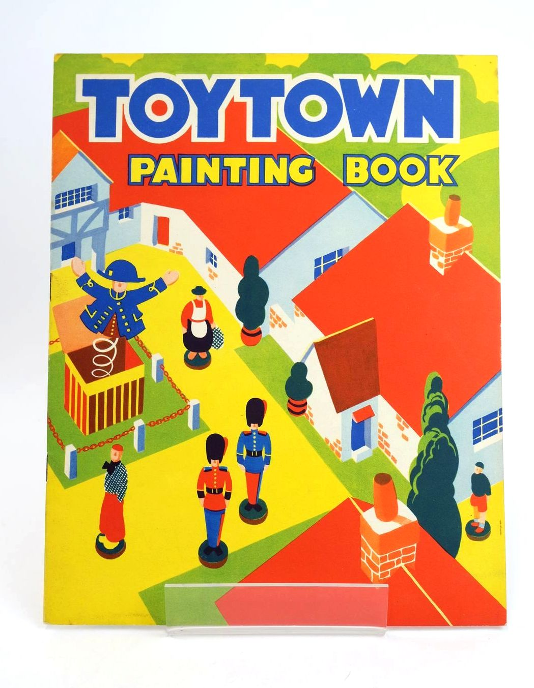 Photo of TOYTOWN PAINTING BOOK published by P.M. (Productions) Ltd. (STOCK CODE: 1318570)  for sale by Stella & Rose's Books