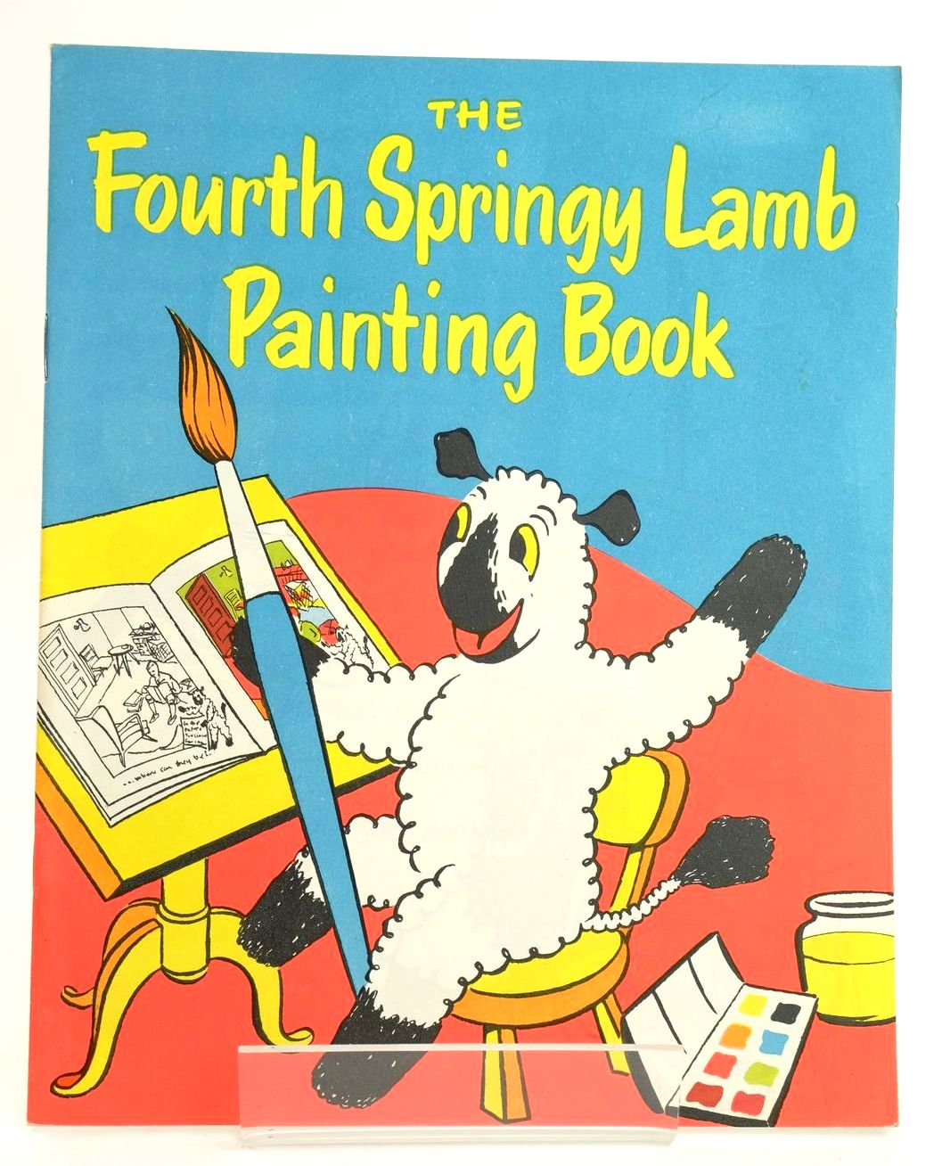 Photo of THE FOURTH SPRINGY LAMB PAINTING BOOK- Stock Number: 1318571
