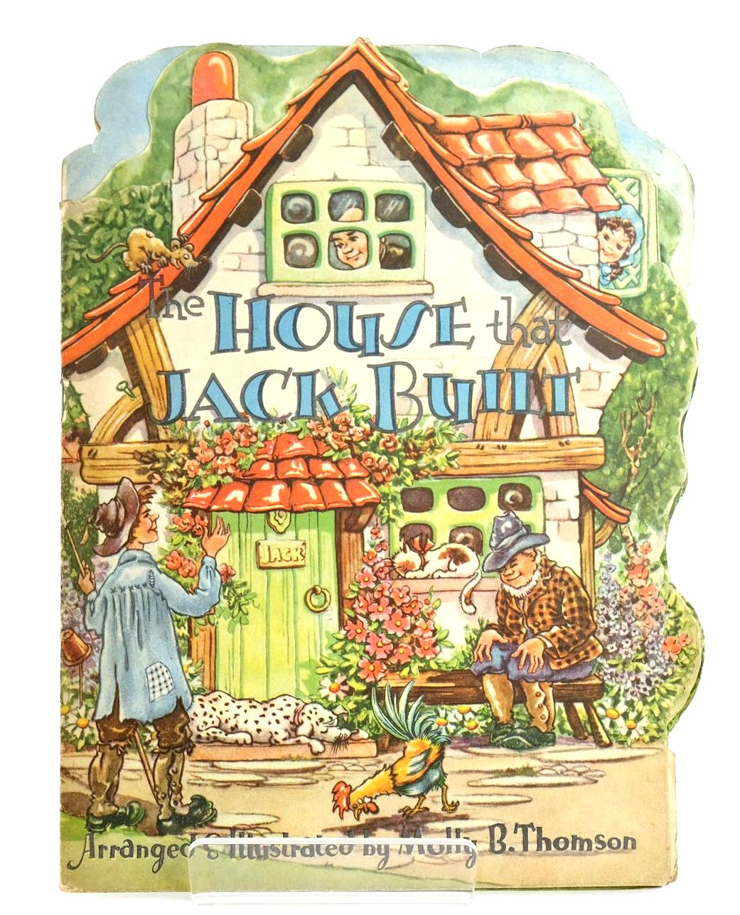 Photo of THE HOUSE THAT JACK BUILT written by Thomson, Molly B. illustrated by Thomson, Molly B. published by Collins Clear-Type Press (STOCK CODE: 1318574)  for sale by Stella & Rose's Books