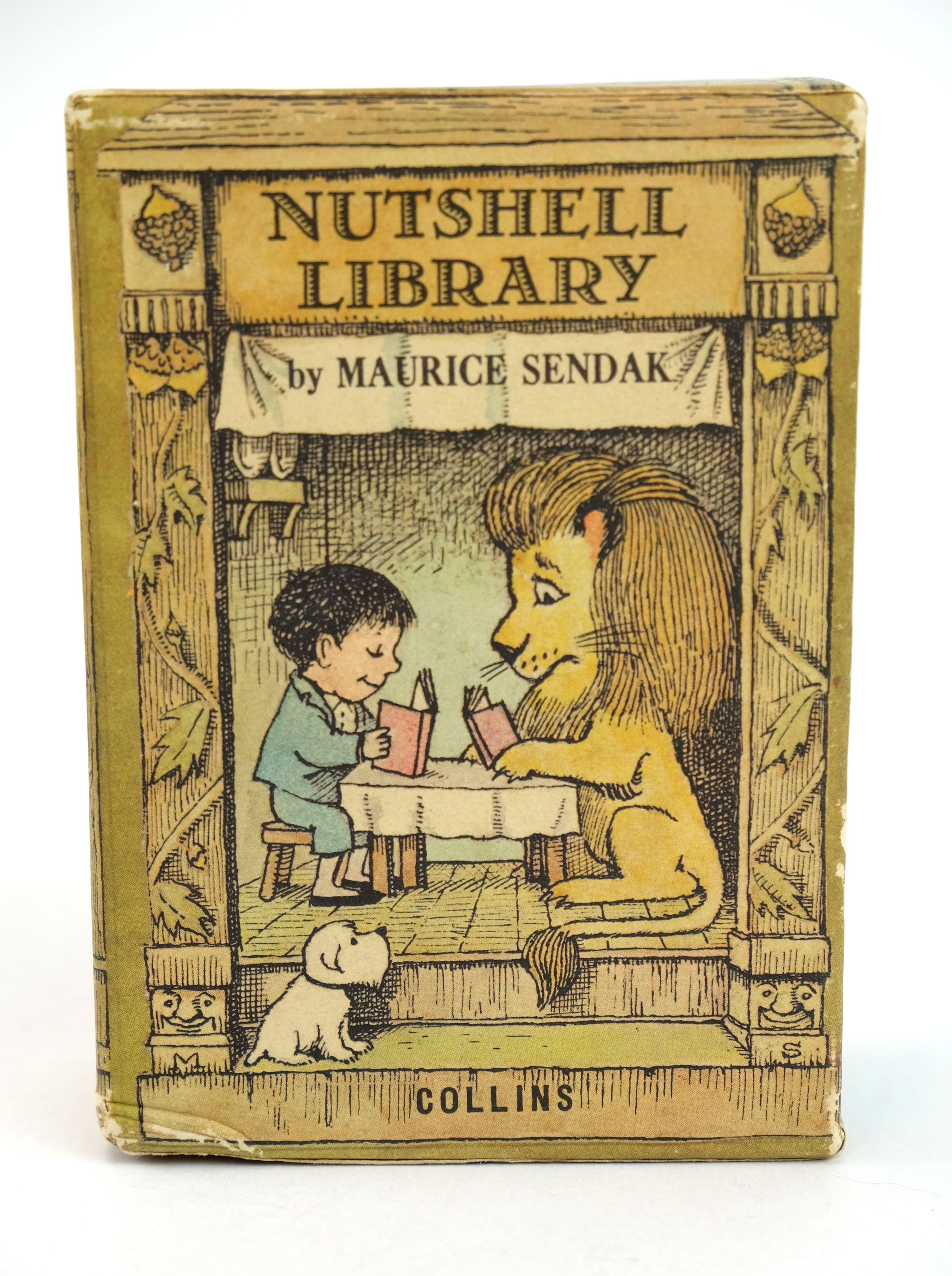 Photo of NUTSHELL LIBRARY written by Sendak, Maurice illustrated by Sendak, Maurice published by Collins (STOCK CODE: 1318581)  for sale by Stella & Rose's Books