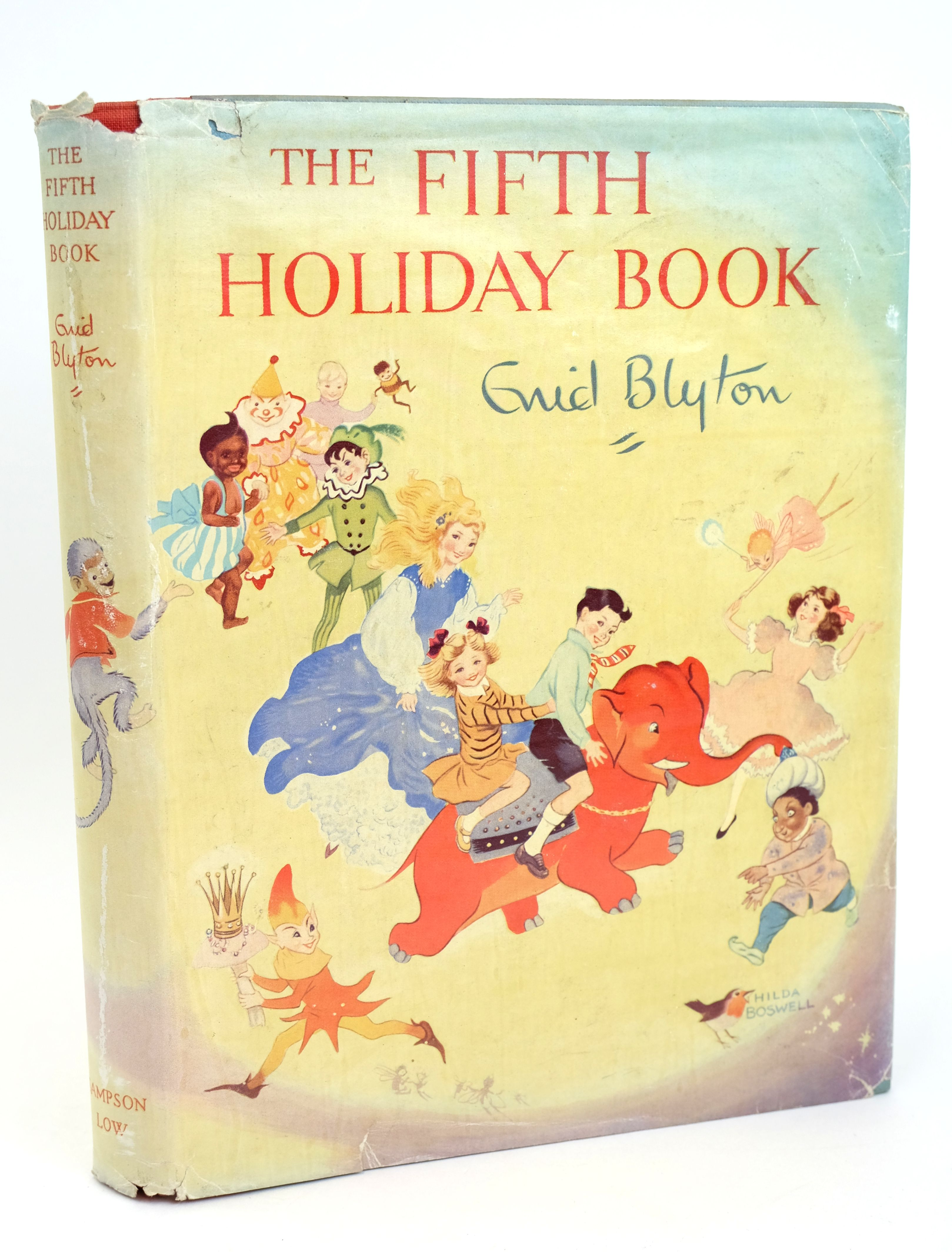 Photo of THE FIFTH HOLIDAY BOOK written by Blyton, Enid illustrated by Lee, Mary Kendal et al.,  published by Sampson Low, Marston & Co. Ltd. (STOCK CODE: 1318584)  for sale by Stella & Rose's Books