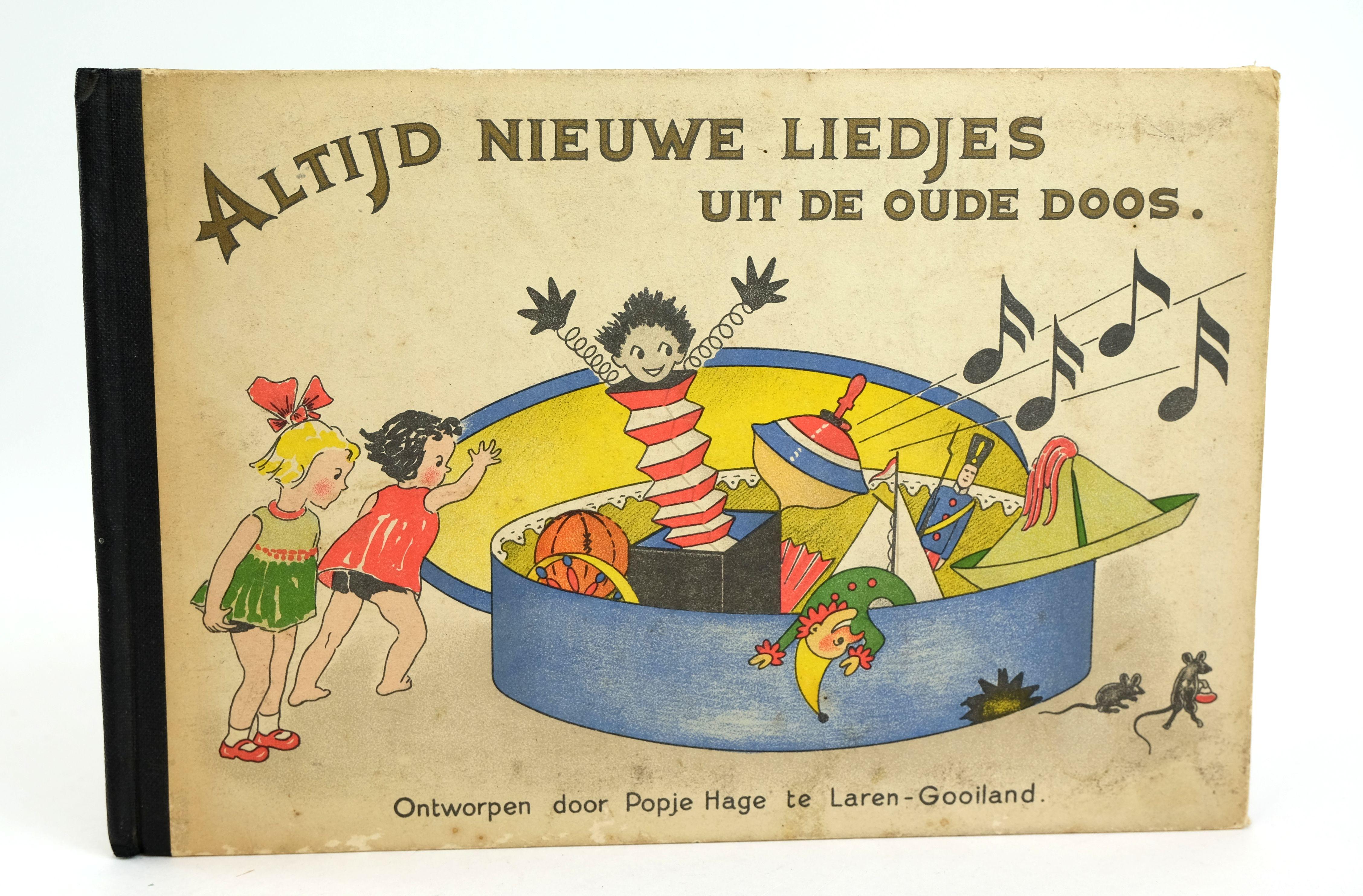 Photo of ALTIJD NIEUWE LIEDJES UIT DE OUDE DOOS written by Hage, Popje (STOCK CODE: 1318588)  for sale by Stella & Rose's Books