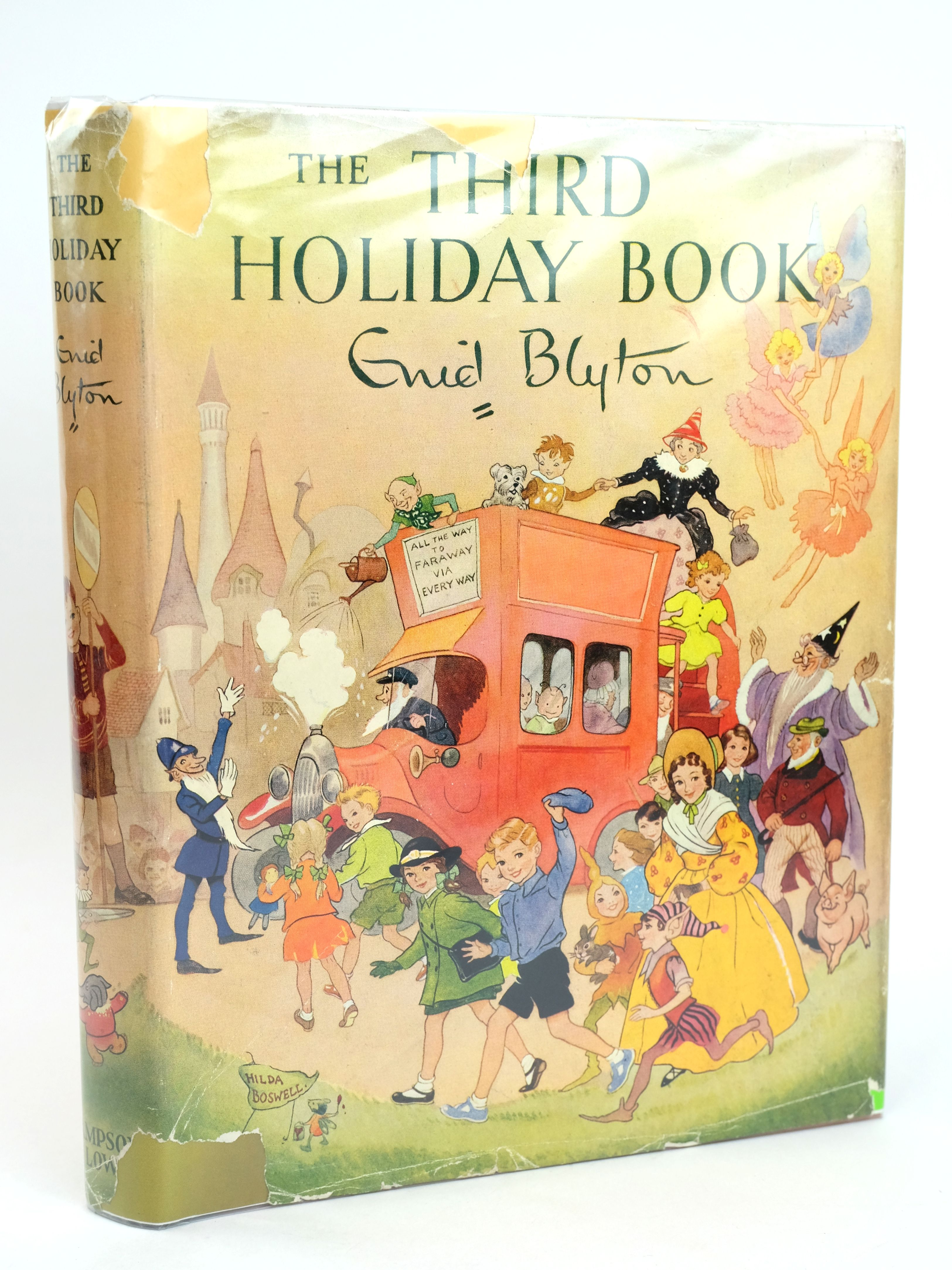 Photo of THE THIRD HOLIDAY BOOK written by Blyton, Enid illustrated by Boswell, Hilda Soper, Eileen published by Sampson Low, Marston & Co. Ltd. (STOCK CODE: 1318589)  for sale by Stella & Rose's Books