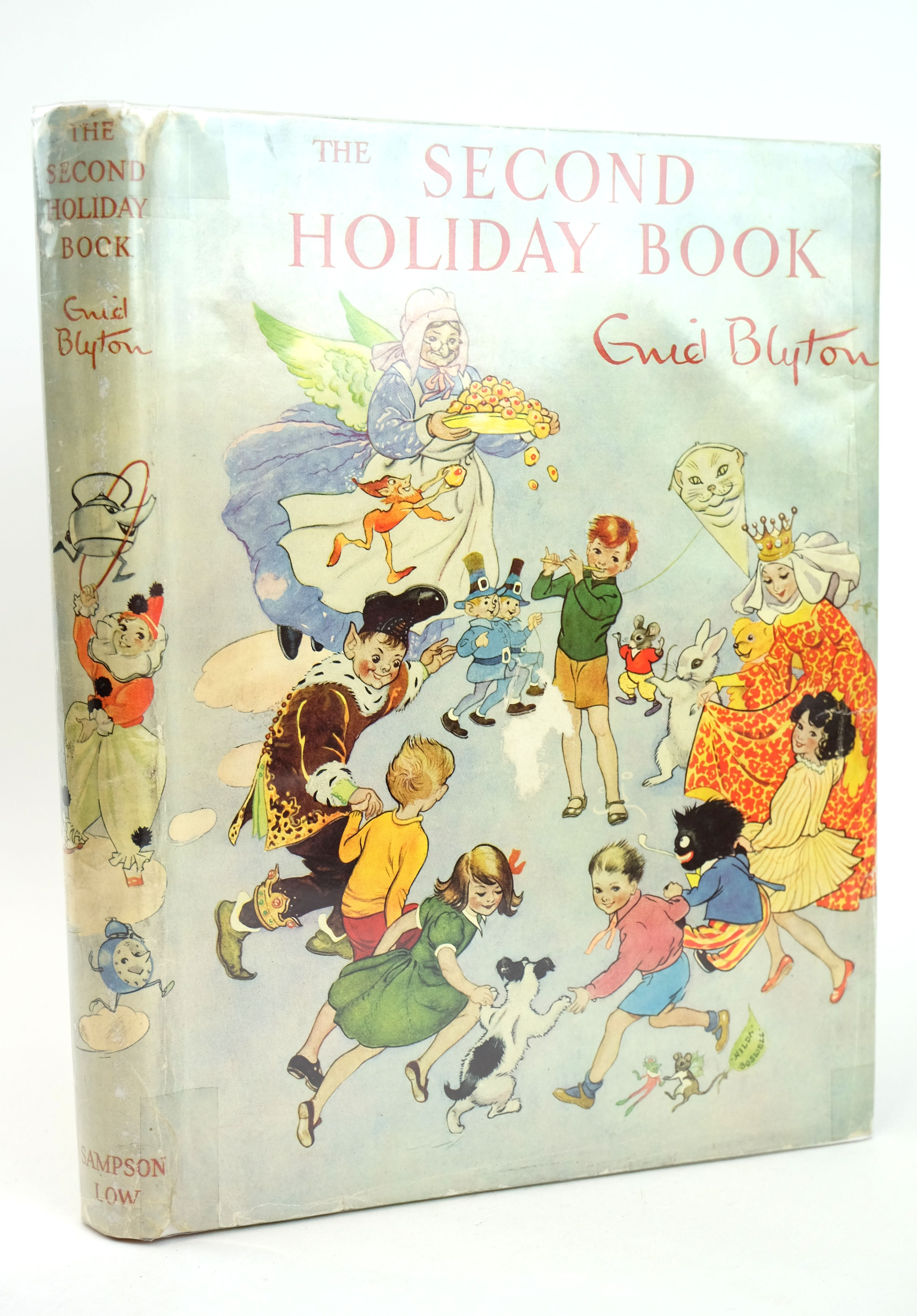 Photo of THE SECOND HOLIDAY BOOK written by Blyton, Enid illustrated by Lodge, Grace Hopking, Noel et al.,  published by Sampson Low, Marston & Co. Ltd. (STOCK CODE: 1318590)  for sale by Stella & Rose's Books