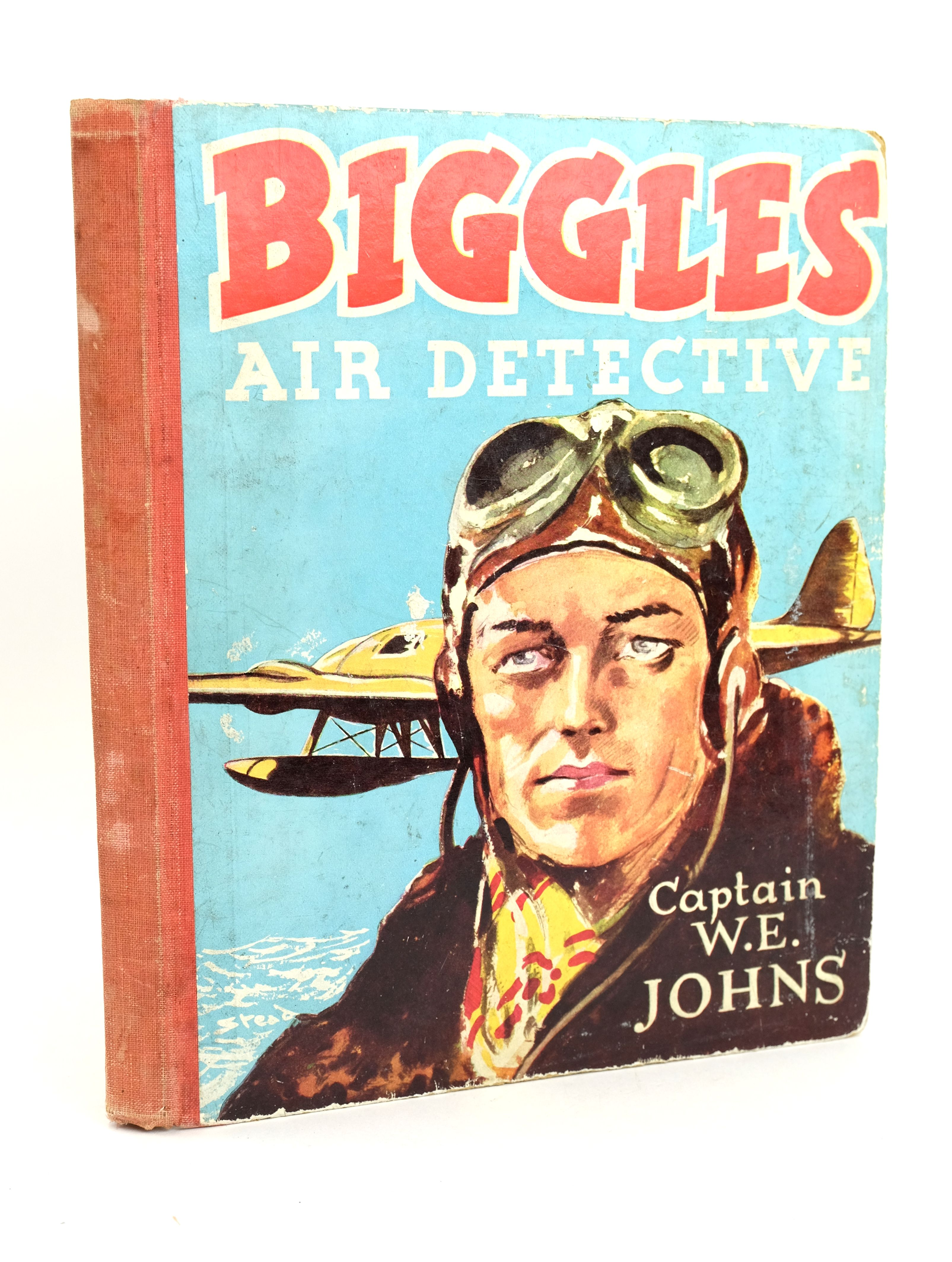 Photo of BIGGLES-AIR DETECTIVE written by Johns, W.E. illustrated by Stead, Leslie published by Marks & Spencer (STOCK CODE: 1318592)  for sale by Stella & Rose's Books